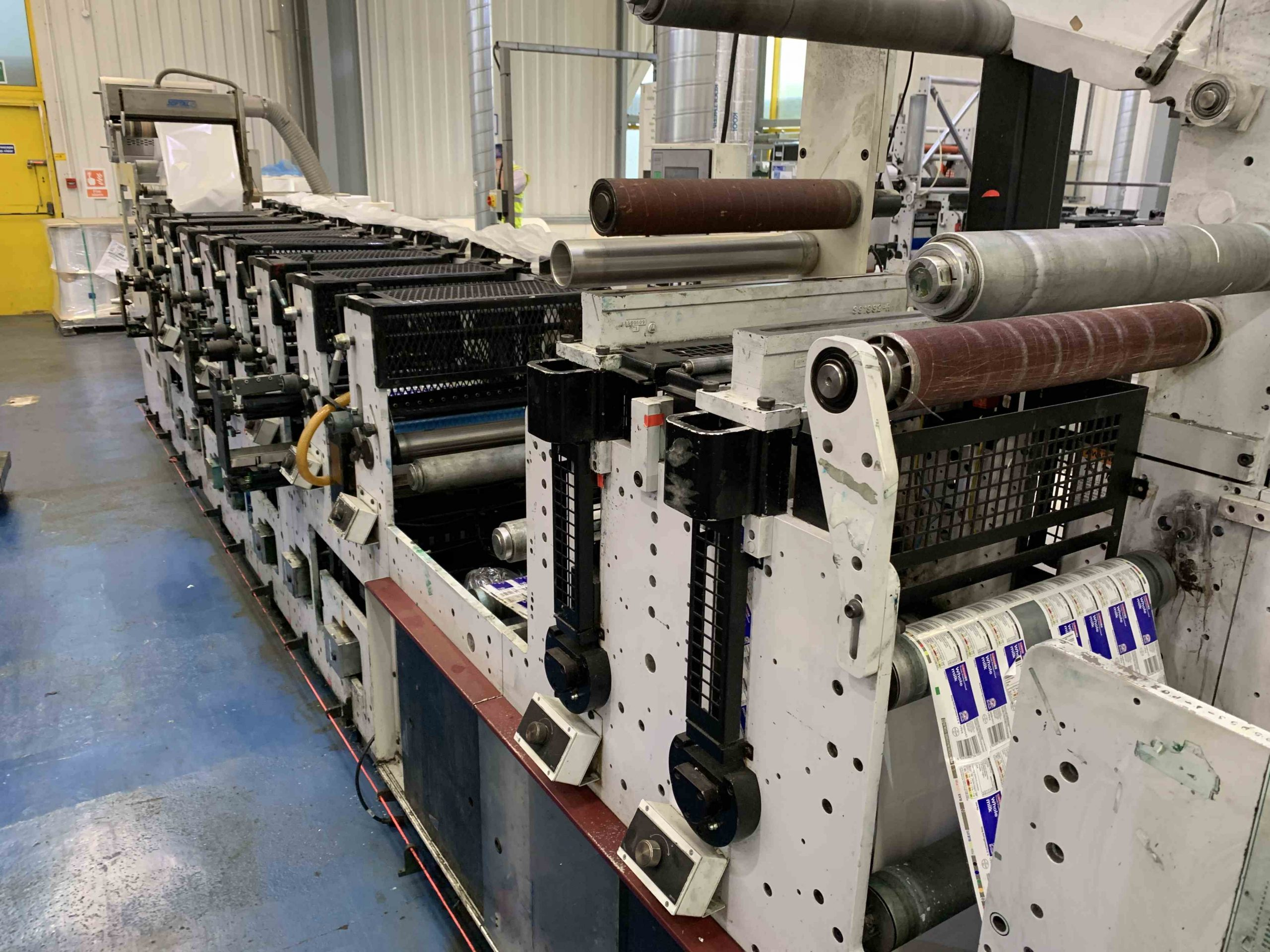 Mark Andy 2200 Servo - Used Flexo Printing Presses and Used Flexographic Equipment-11