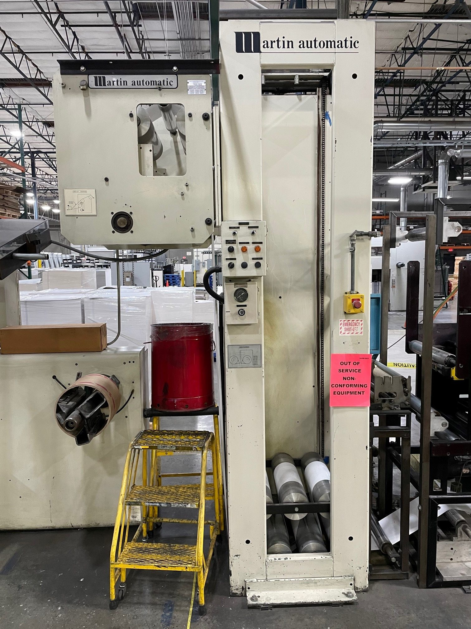 Martin Automatic CECB520 - Used Flexo Printing Presses and Used Flexographic Equipment-2