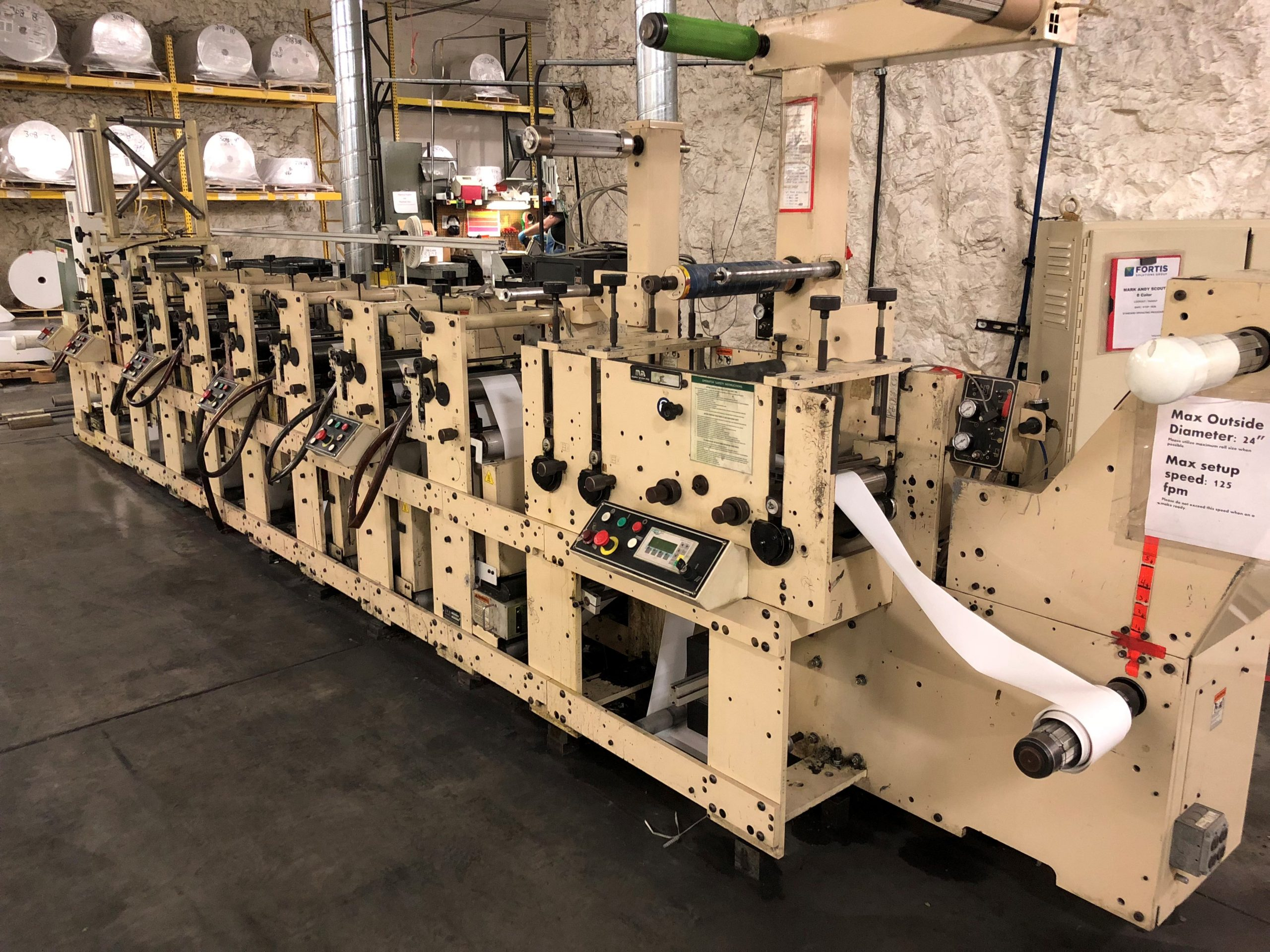 Mark Andy Scout - Used Flexo Printing Presses and Used Flexographic Equipment-2