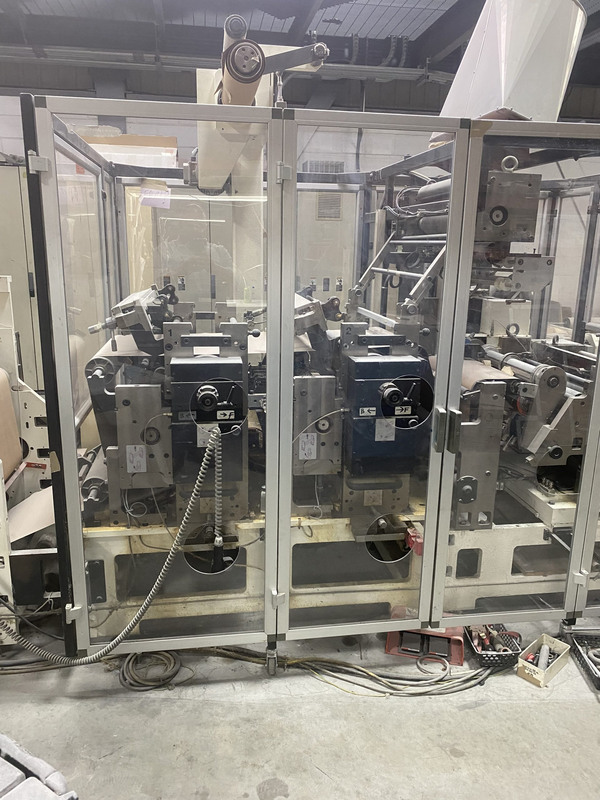 Omet Varyflex 520 - Used Flexo Printing Presses and Used Flexographic Equipment-2