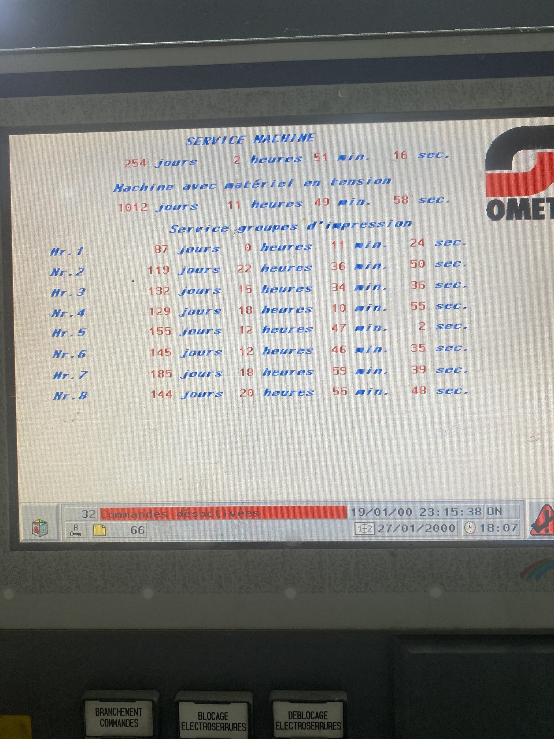 Omet Varyflex 520 - Used Flexo Printing Presses and Used Flexographic Equipment-4