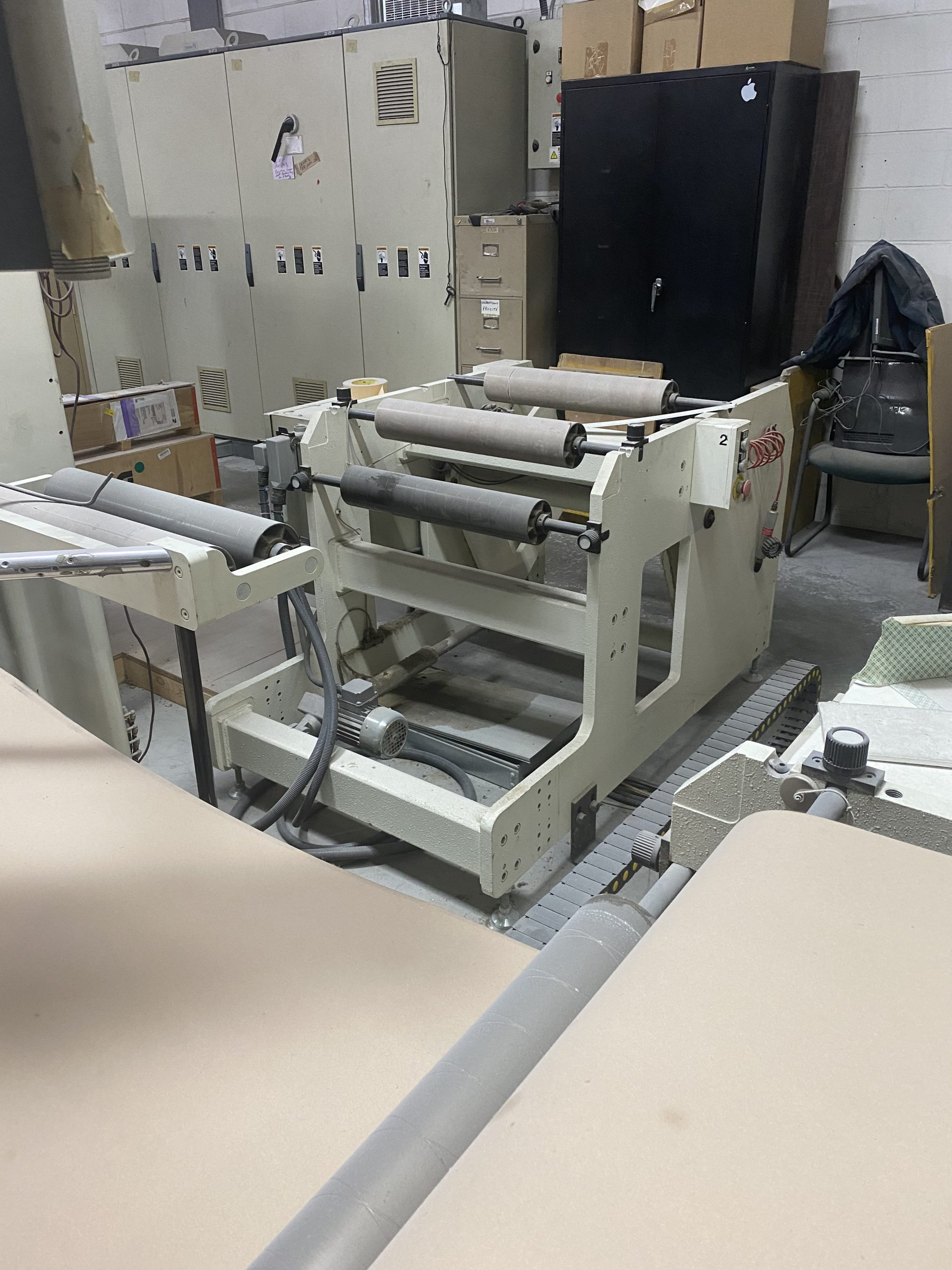Omet Varyflex 520 - Used Flexo Printing Presses and Used Flexographic Equipment-6