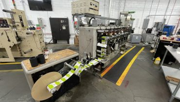 Webtron 650 - Used Flexo Printing Presses and Used Flexographic Equipment
