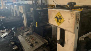 Aquaflex DBX - Used Flexo Printing Presses and Used Flexographic Equipment