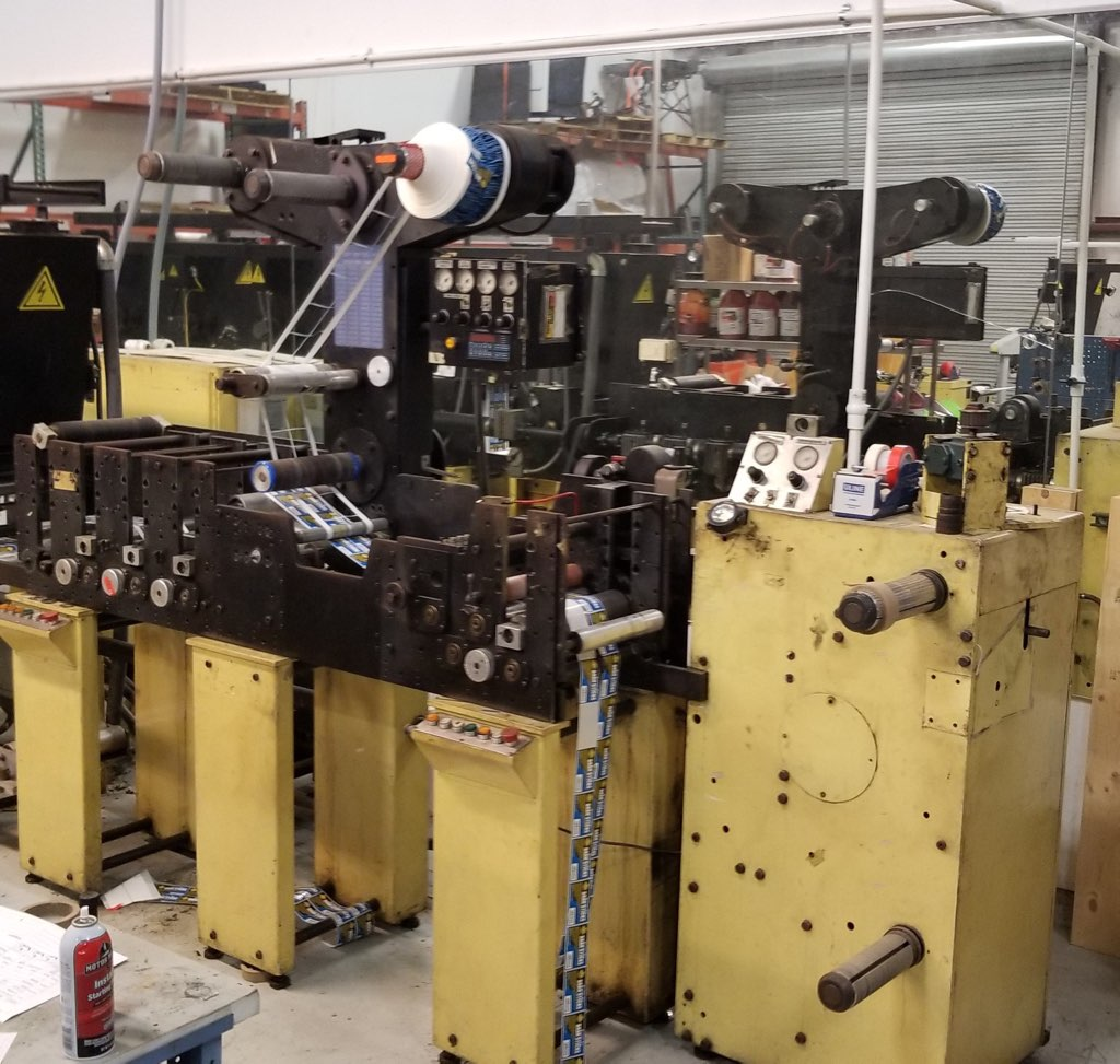 Comco Captain - Used Flexo Printing Presses and Used Flexographic Equipment-4