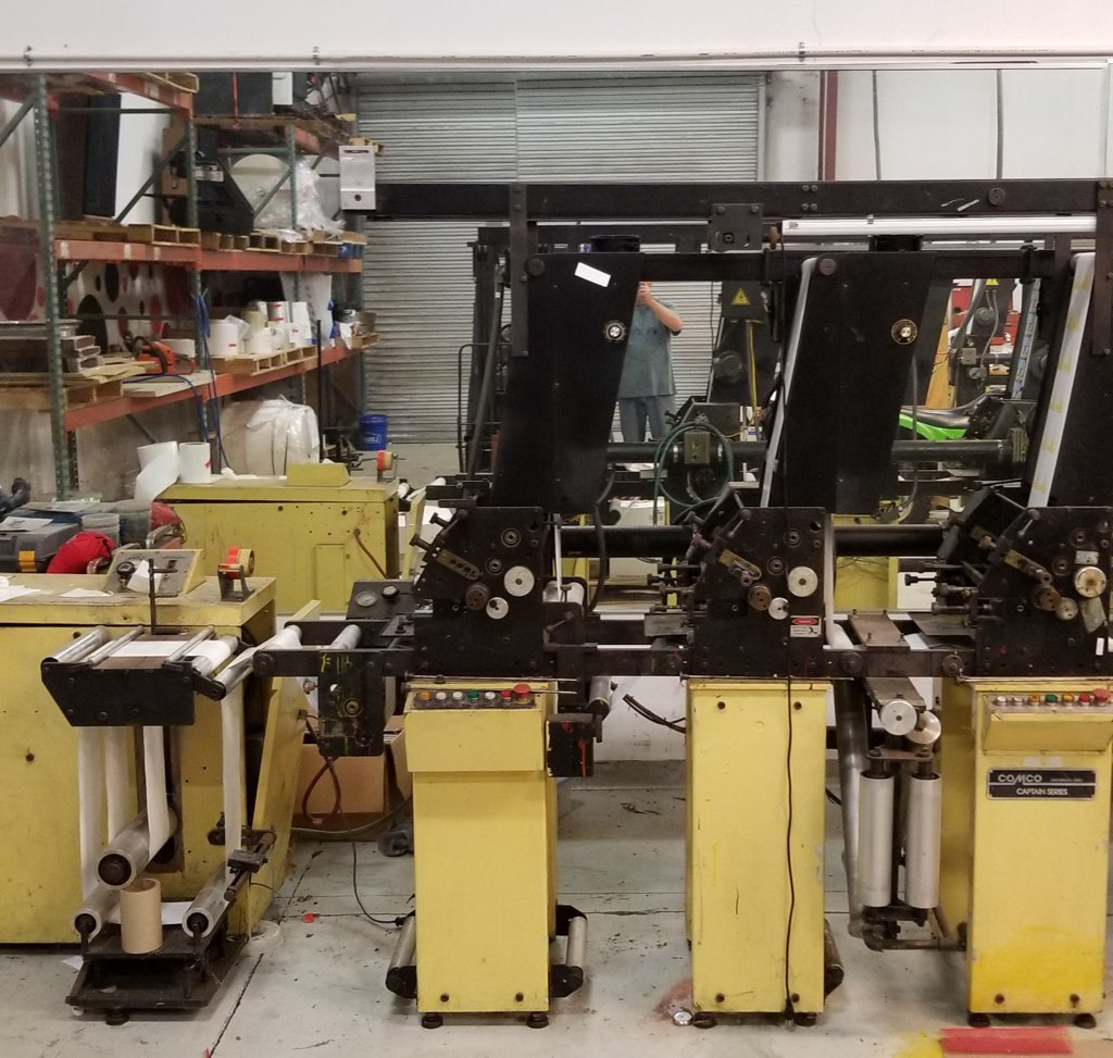 Comco Captain - Used Flexo Printing Presses and Used Flexographic Equipment-5