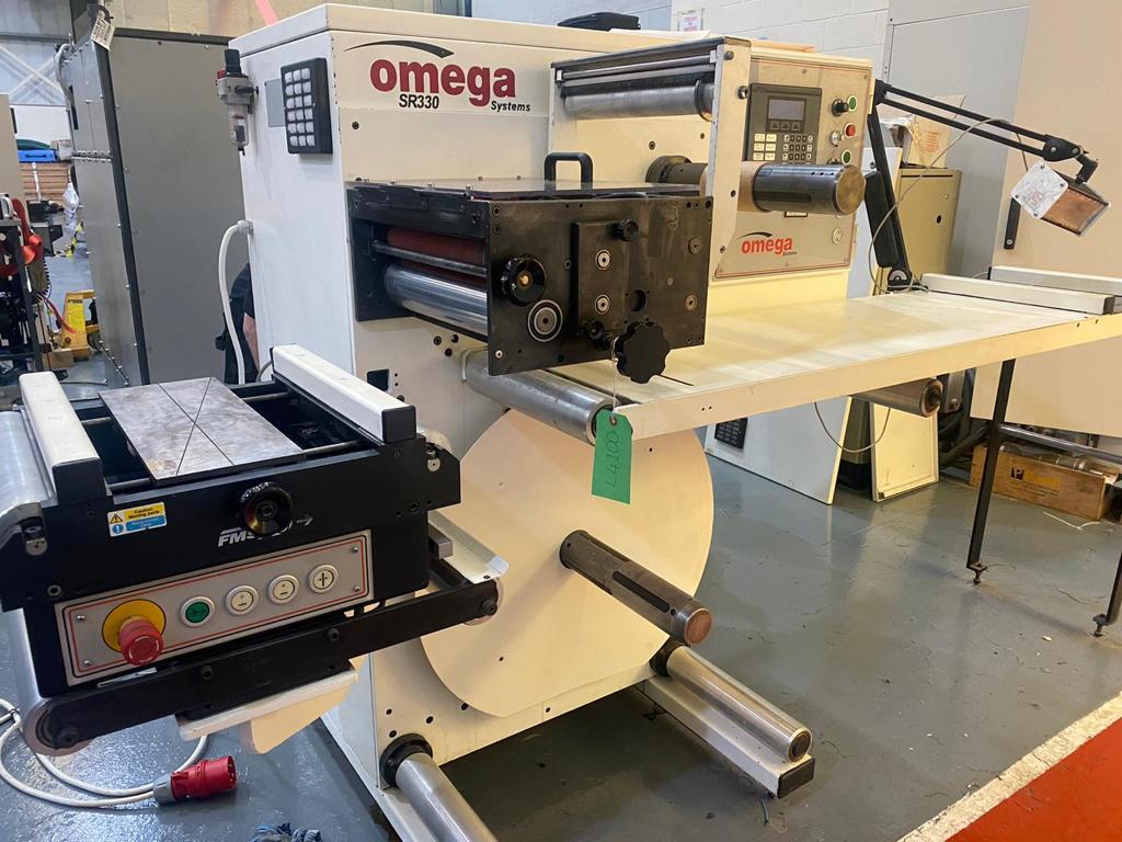 ABG Omega SR330 - Used Flexo Printing Presses and Used Flexographic Equipment-0