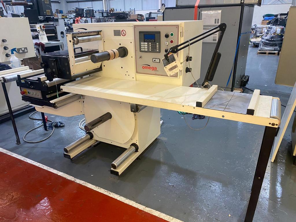 ABG Omega SR330 - Used Flexo Printing Presses and Used Flexographic Equipment-2
