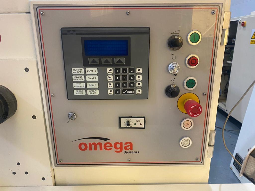 ABG Omega SR330 - Used Flexo Printing Presses and Used Flexographic Equipment-5