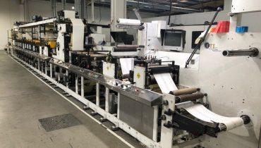 ETI Labeline 1609 - Used Flexo Printing Presses and Used Flexographic Equipment