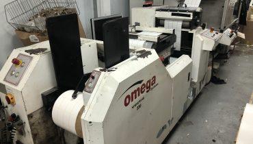 ABG Omega 330 + ABG Vectra SGTR 330 - Used Flexo Printing Presses and Used Flexographic Equipment