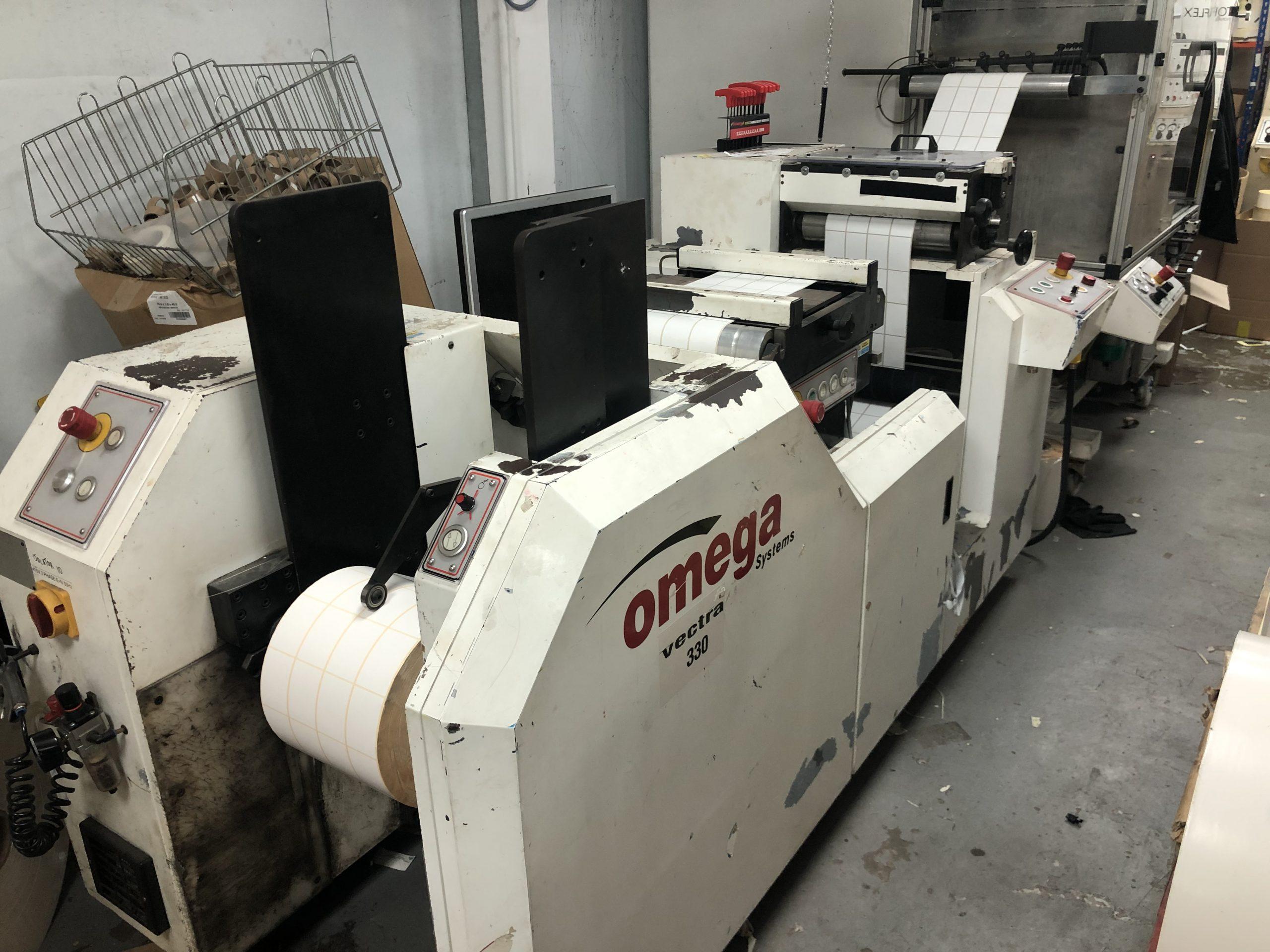 ABG Omega 330 + ABG Vectra SGTR 330 - Used Flexo Printing Presses and Used Flexographic Equipment-0