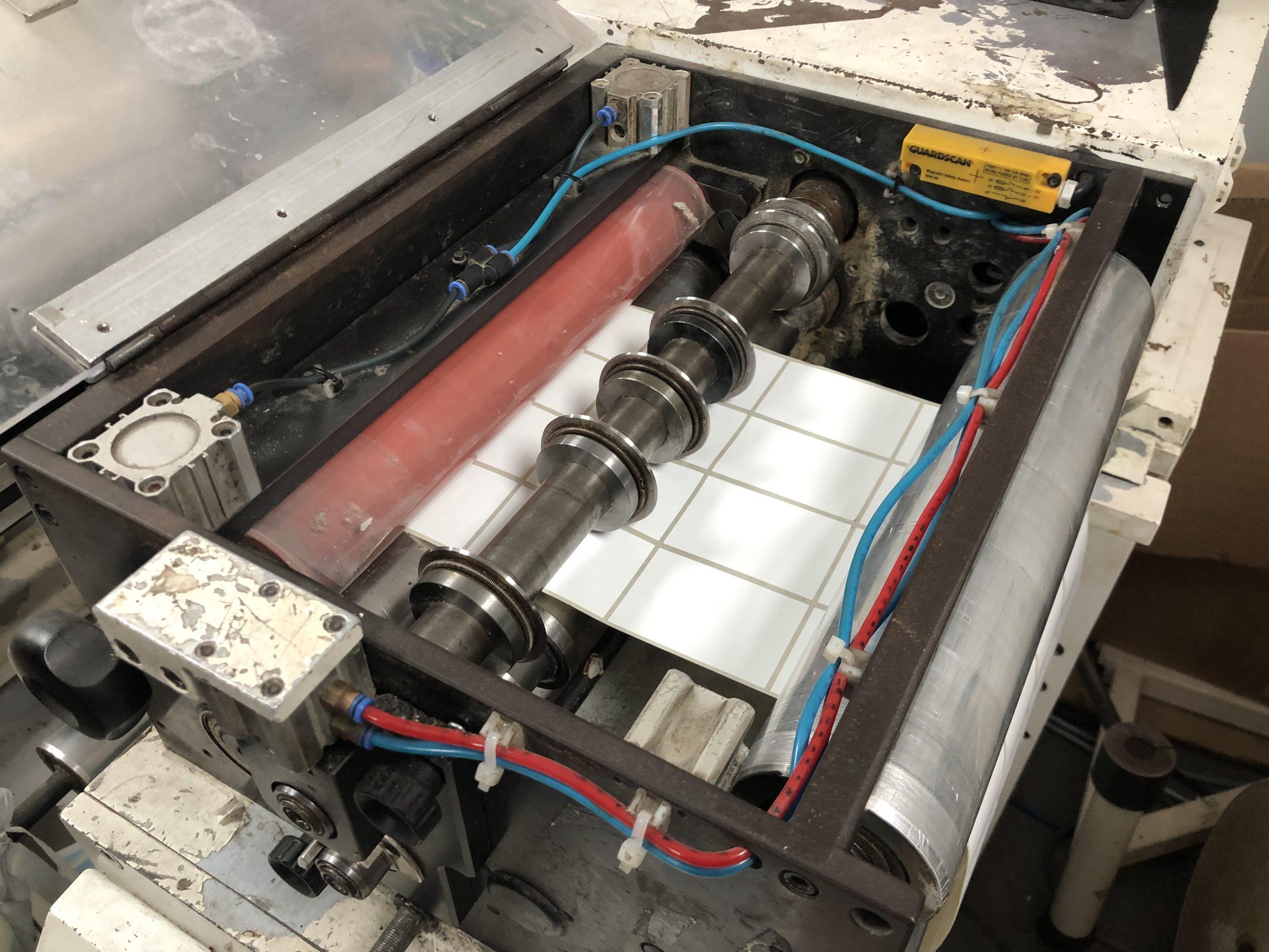 ABG Omega 330 + ABG Vectra SGTR 330 - Used Flexo Printing Presses and Used Flexographic Equipment-4