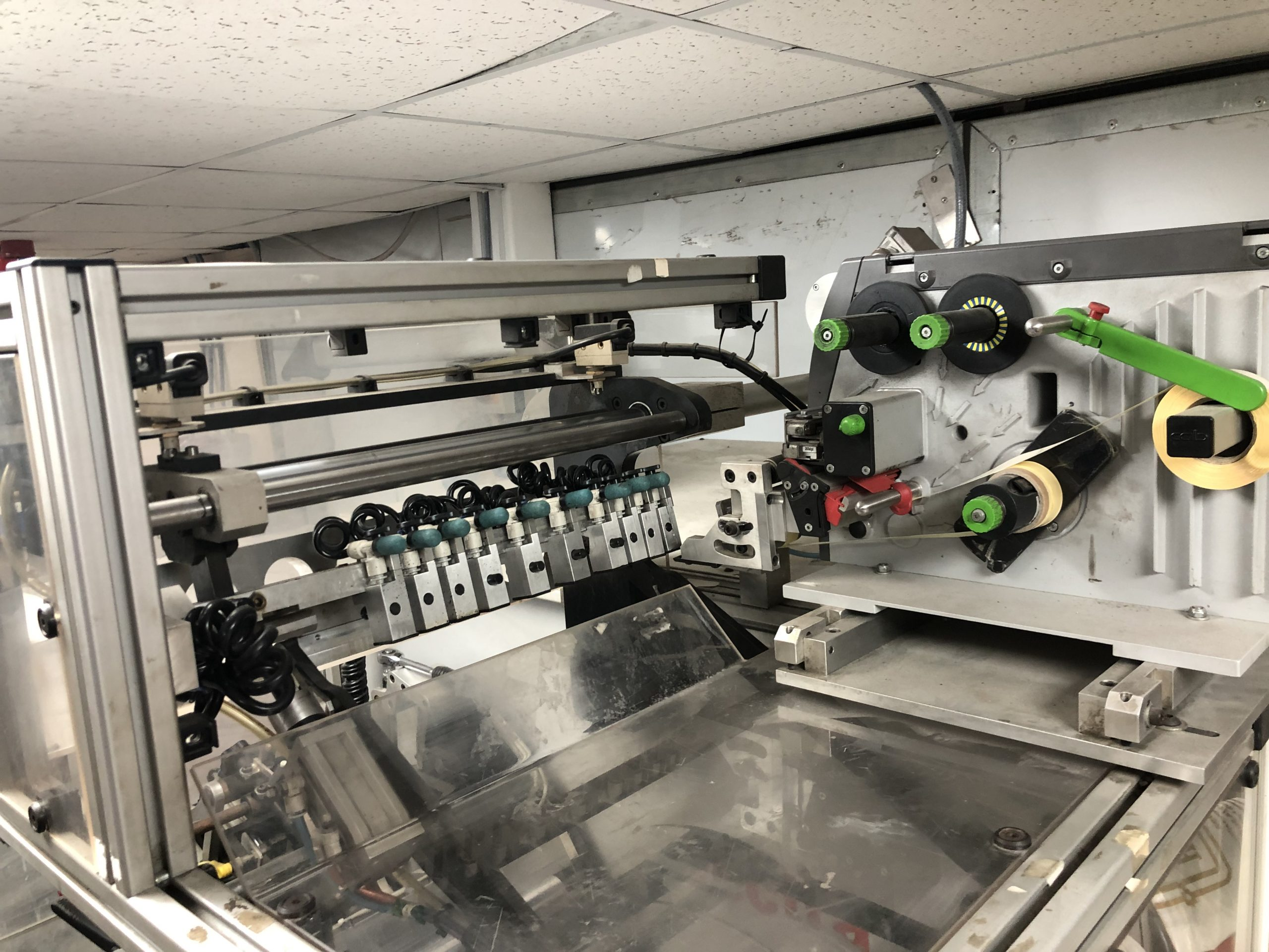 ABG Omega 330 + ABG Vectra SGTR 330 - Used Flexo Printing Presses and Used Flexographic Equipment-5