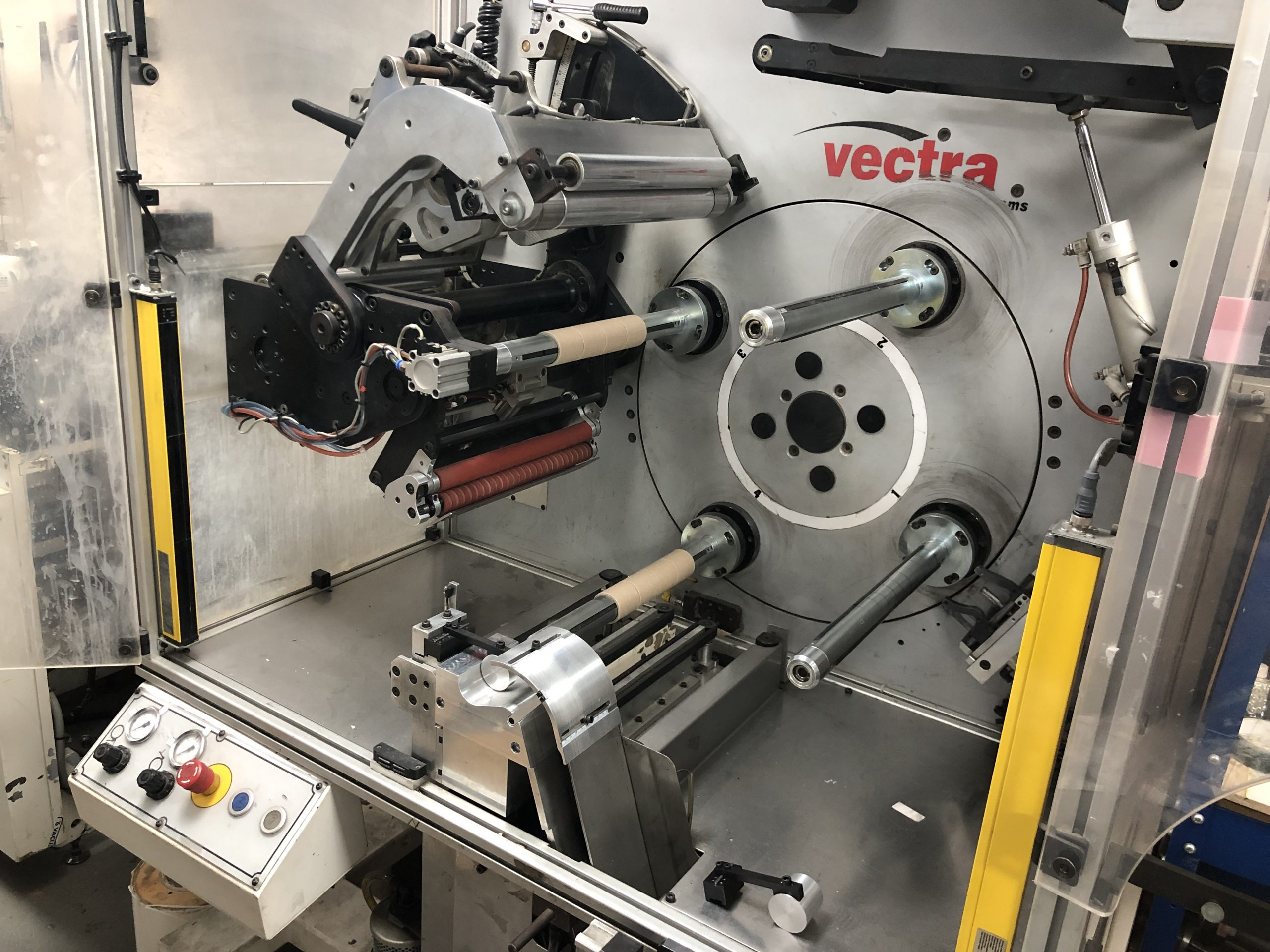 ABG Omega 330 + ABG Vectra SGTR 330 - Used Flexo Printing Presses and Used Flexographic Equipment-8