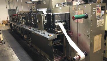 Aquaflex DBX1006 - Used Flexo Printing Presses and Used Flexographic Equipment