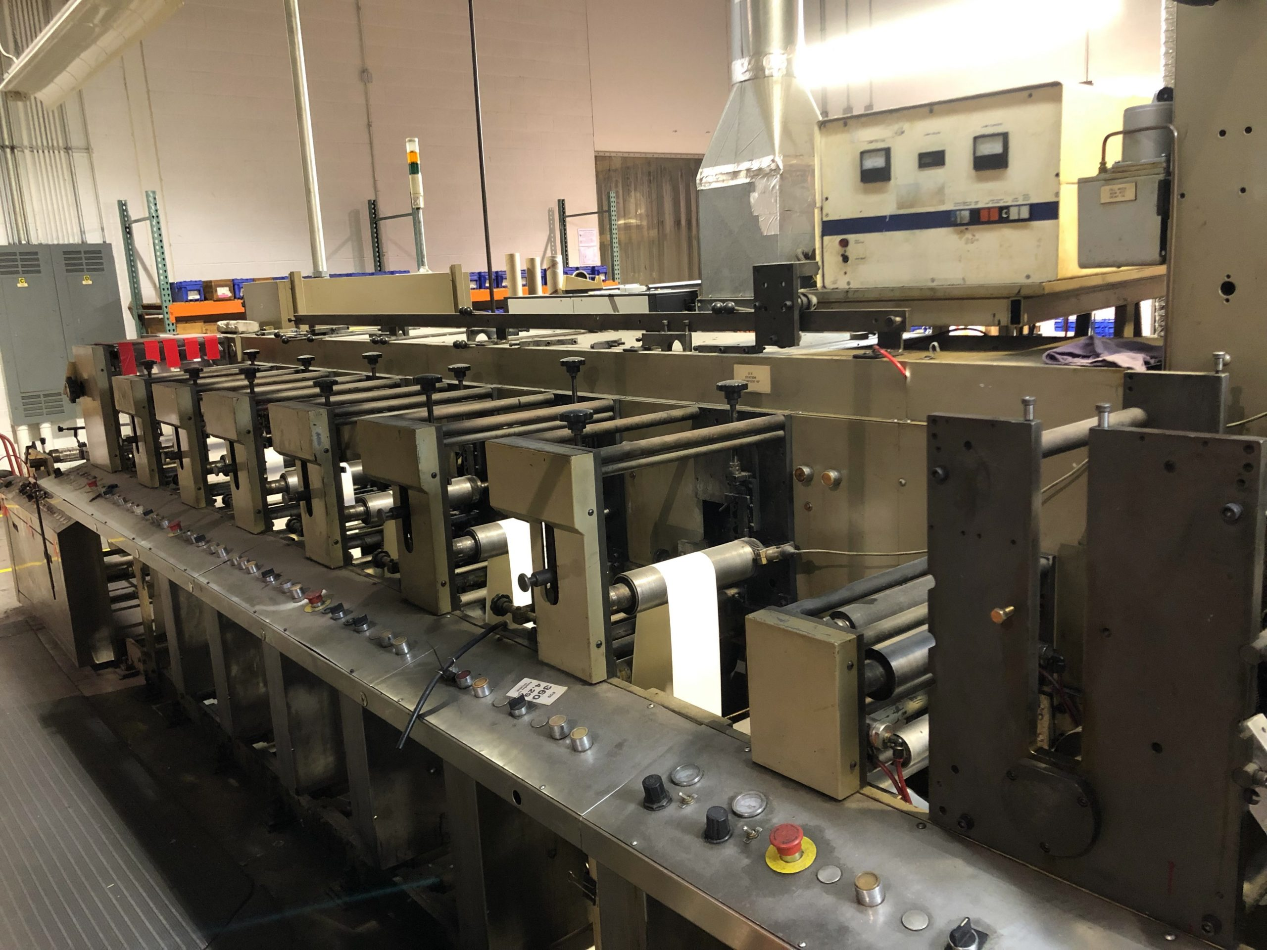 Aquaflex DBX1006 - Used Flexo Printing Presses and Used Flexographic Equipment-2