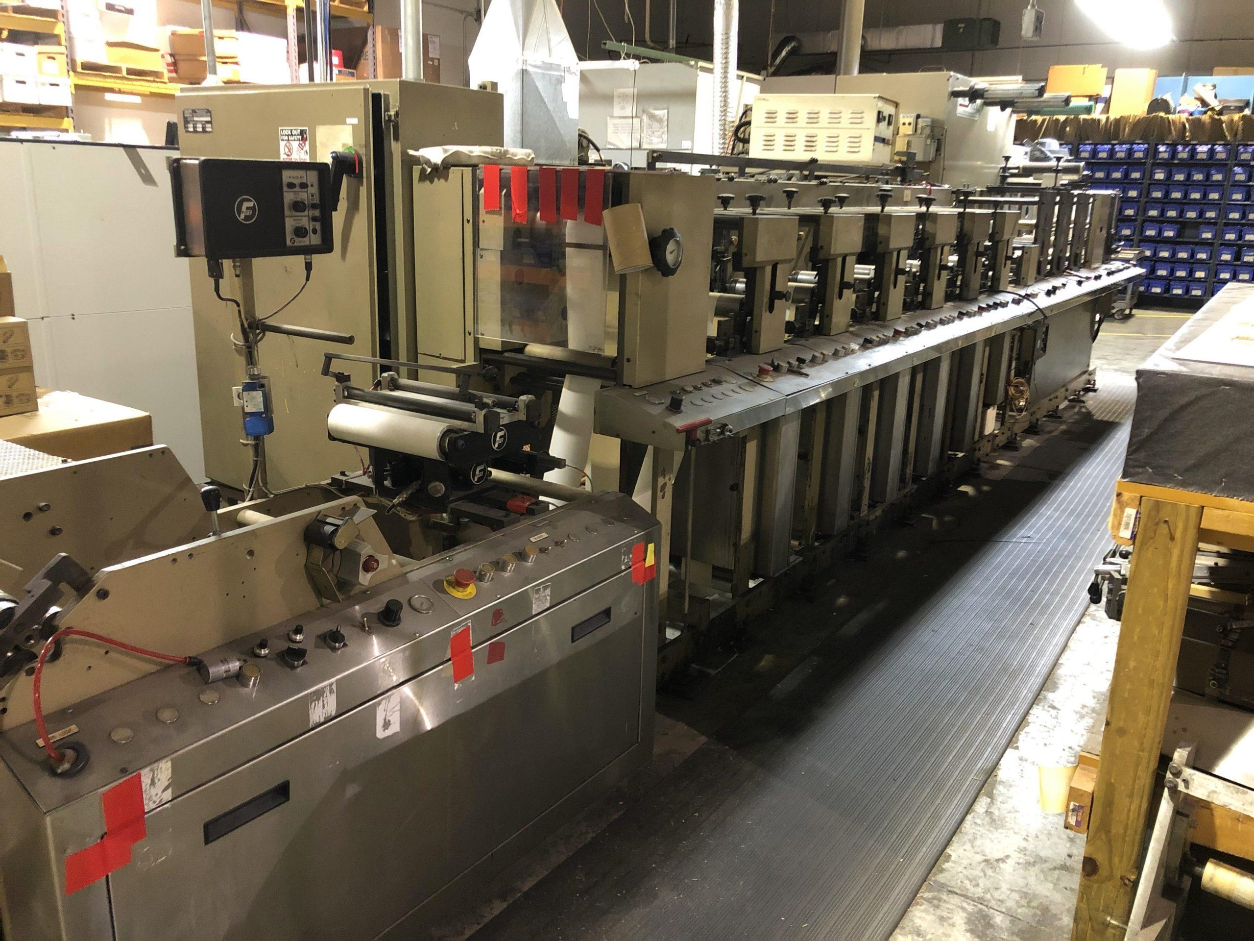 Aquaflex DBX1006 - Used Flexo Printing Presses and Used Flexographic Equipment-3