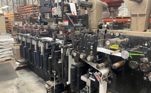 Webtron 750 HQV - Used Flexo Printing Presses and Used Flexographic Equipment