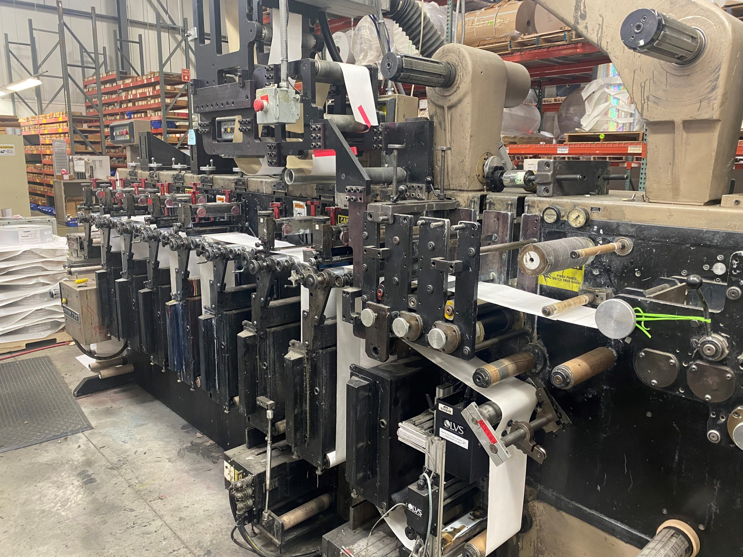 Webtron 750 HQV - Used Flexo Printing Presses and Used Flexographic Equipment-0