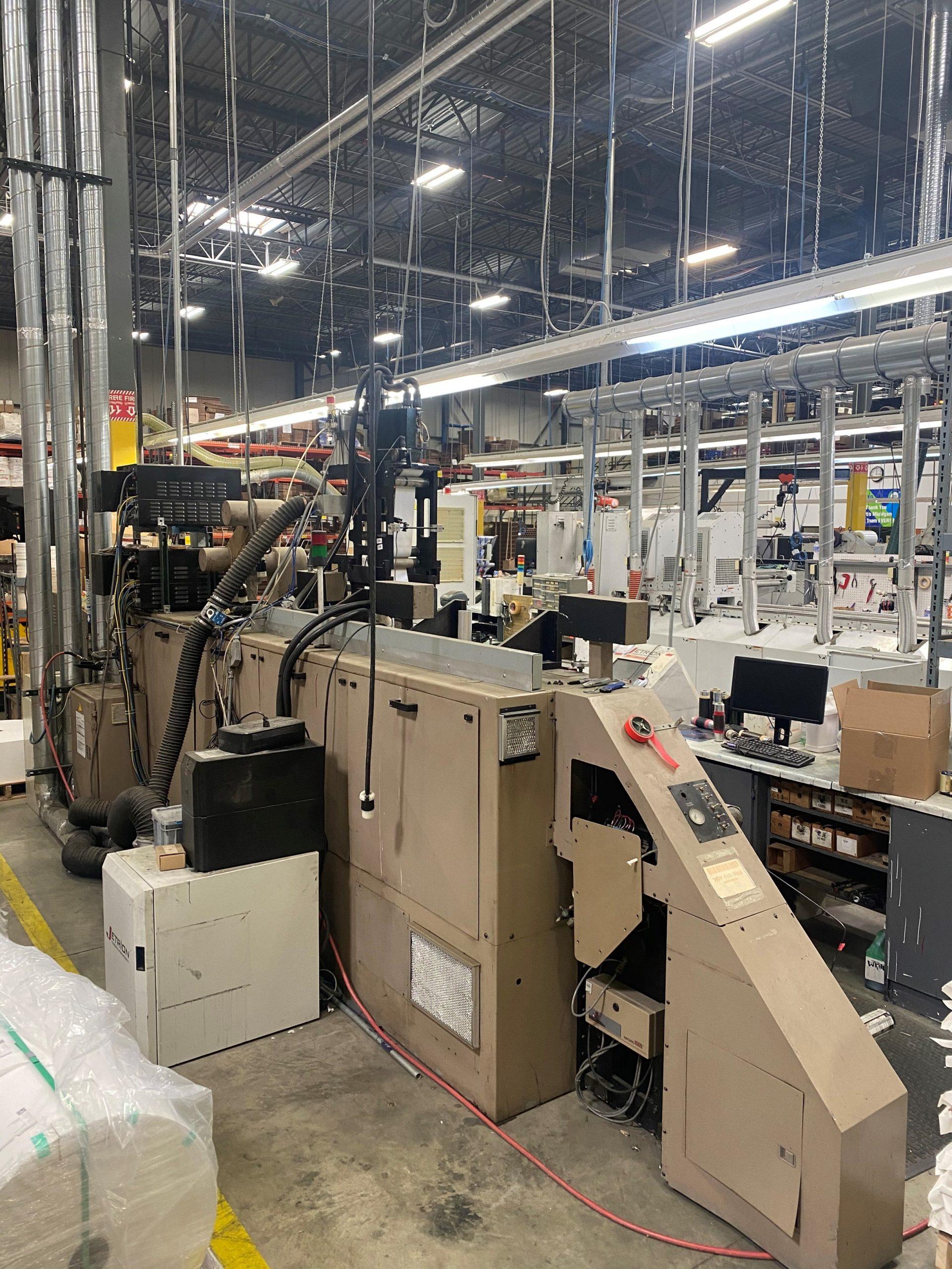 Webtron 750 HQV - Used Flexo Printing Presses and Used Flexographic Equipment-4