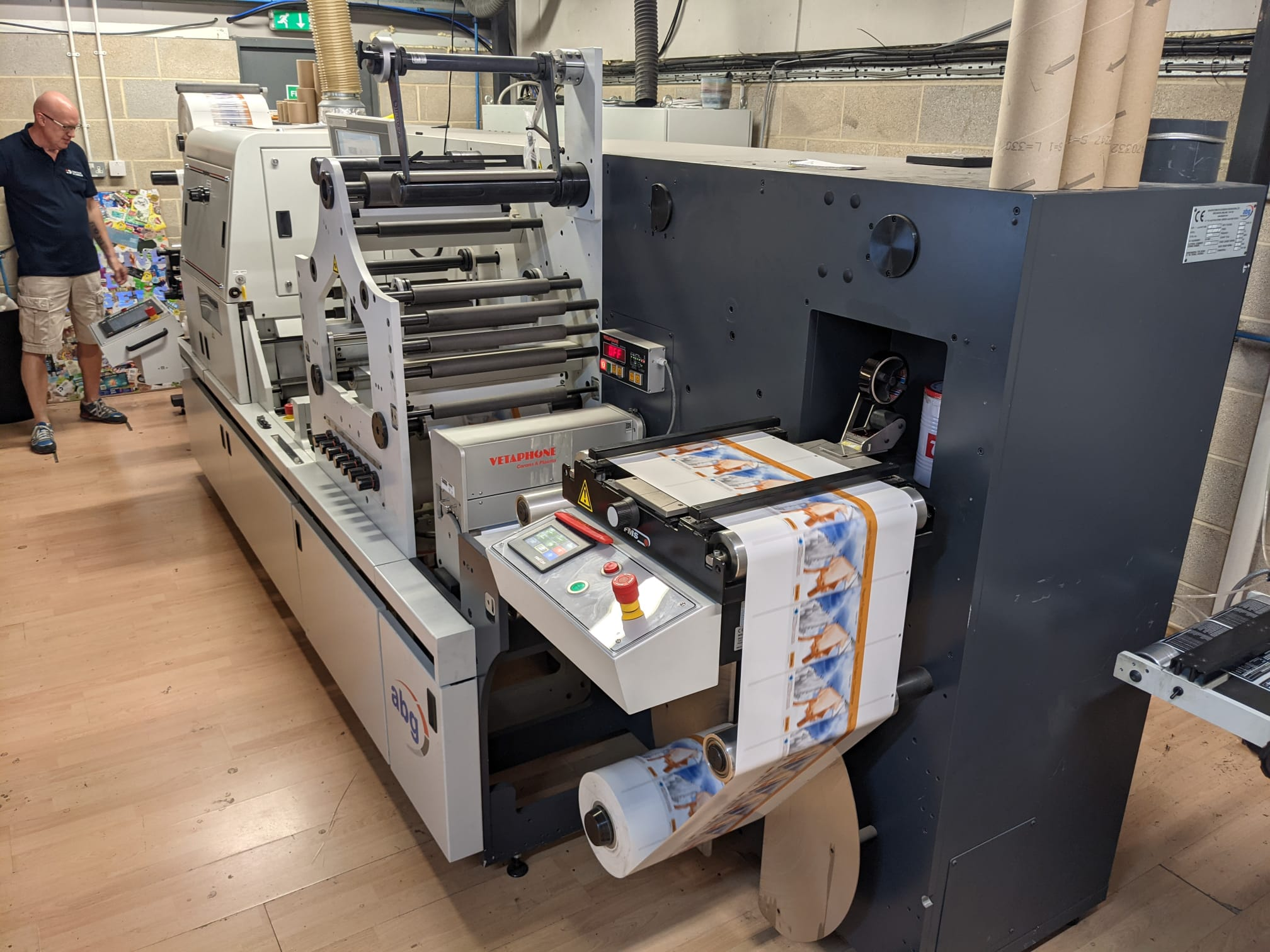 ABG Digilase Series 2 - Used Flexo Printing Presses and Used Flexographic Equipment-0
