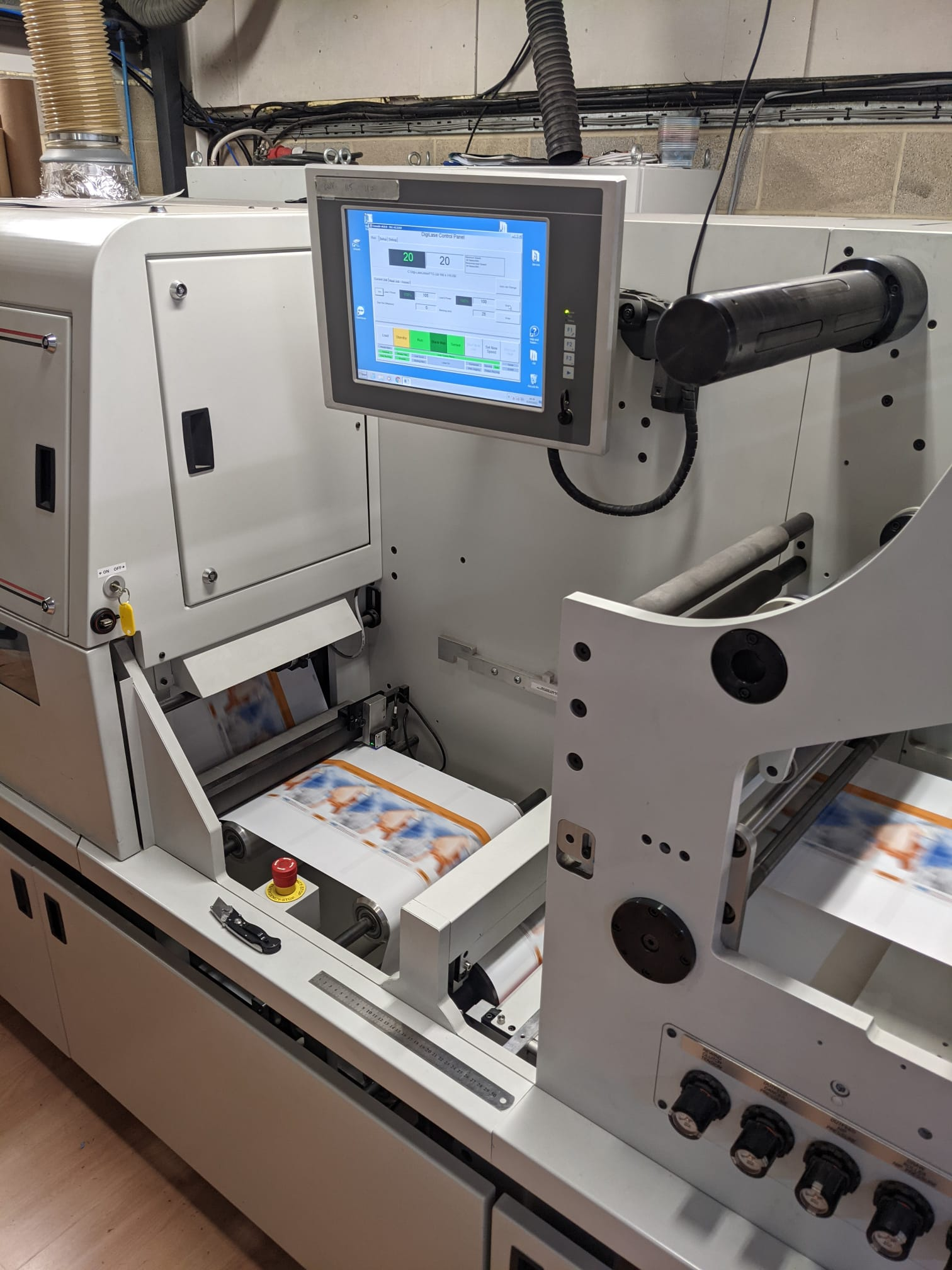 ABG Digilase Series 2 - Used Flexo Printing Presses and Used Flexographic Equipment-5