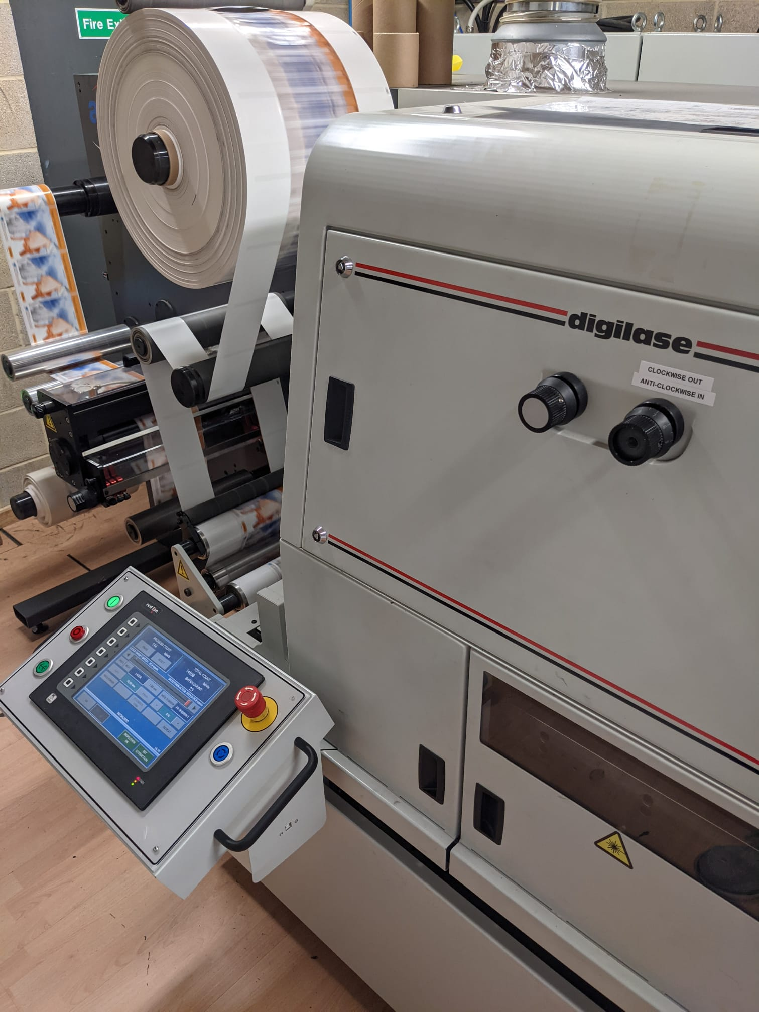 ABG Digilase Series 2 - Used Flexo Printing Presses and Used Flexographic Equipment-7
