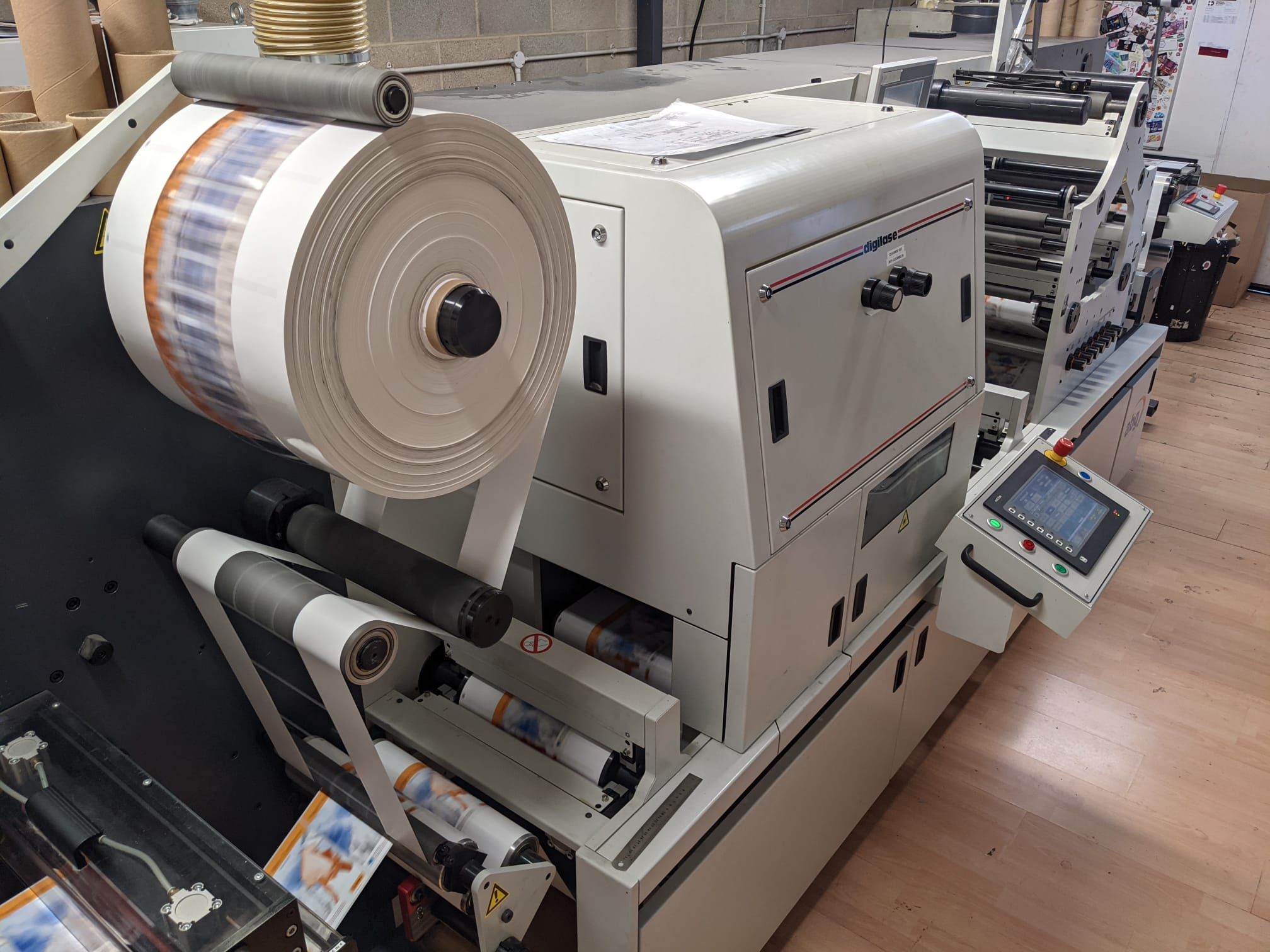 ABG Digilase Series 2 - Used Flexo Printing Presses and Used Flexographic Equipment-8