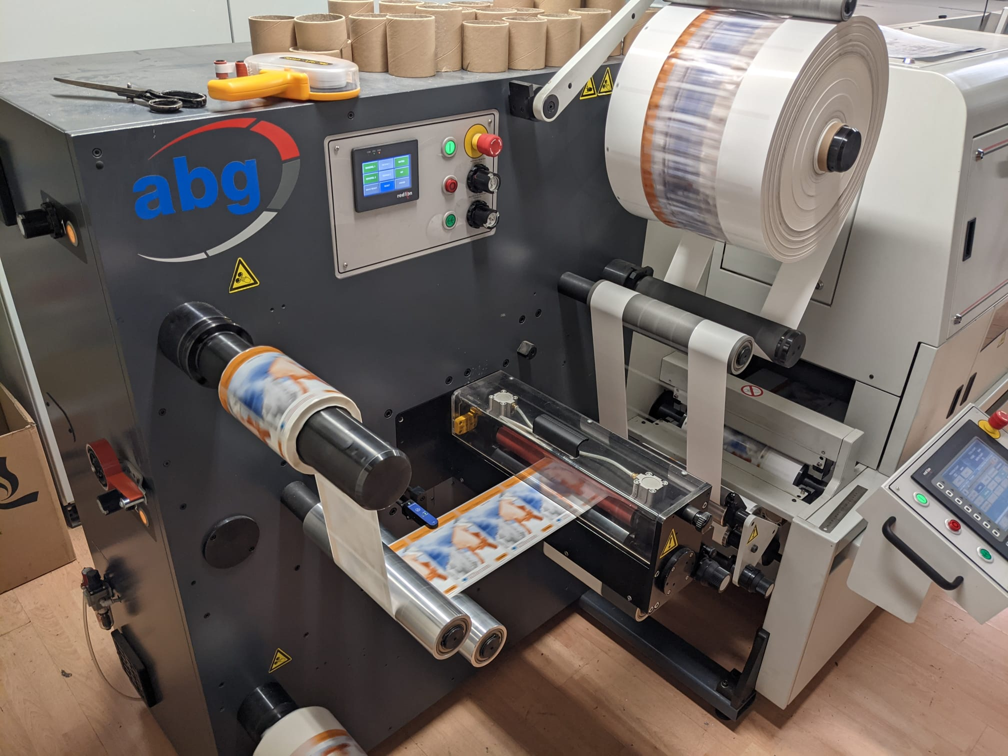 ABG Digilase Series 2 - Used Flexo Printing Presses and Used Flexographic Equipment-9