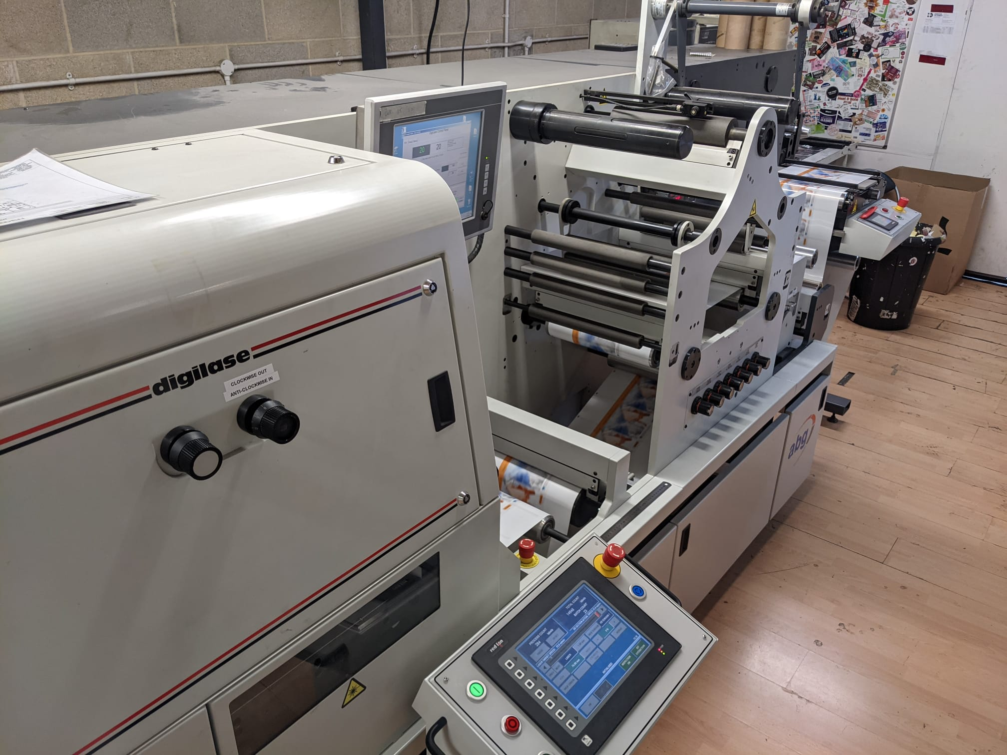 ABG Digilase Series 2 - Used Flexo Printing Presses and Used Flexographic Equipment-10