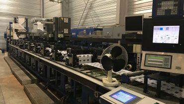 Gallus EM410 - Used Flexo Printing Presses and Used Flexographic Equipment