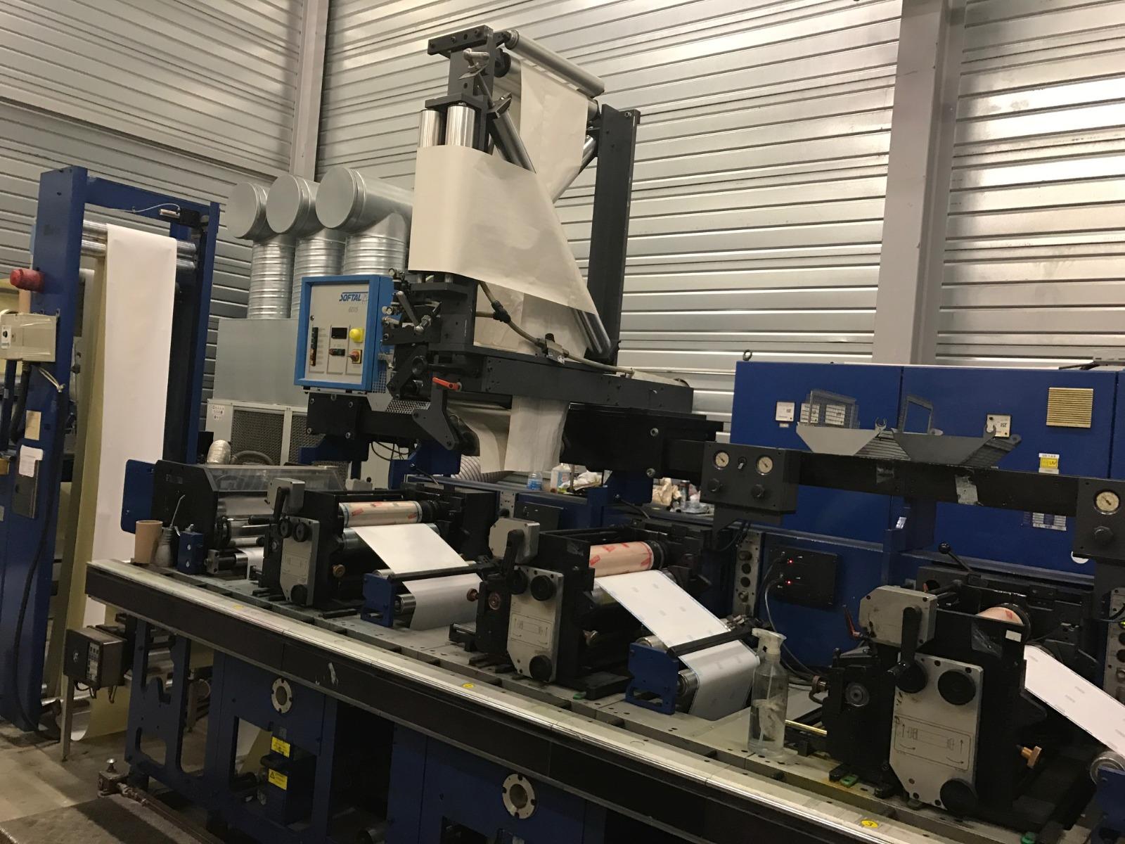 Gallus EM410 - Used Flexo Printing Presses and Used Flexographic Equipment-7