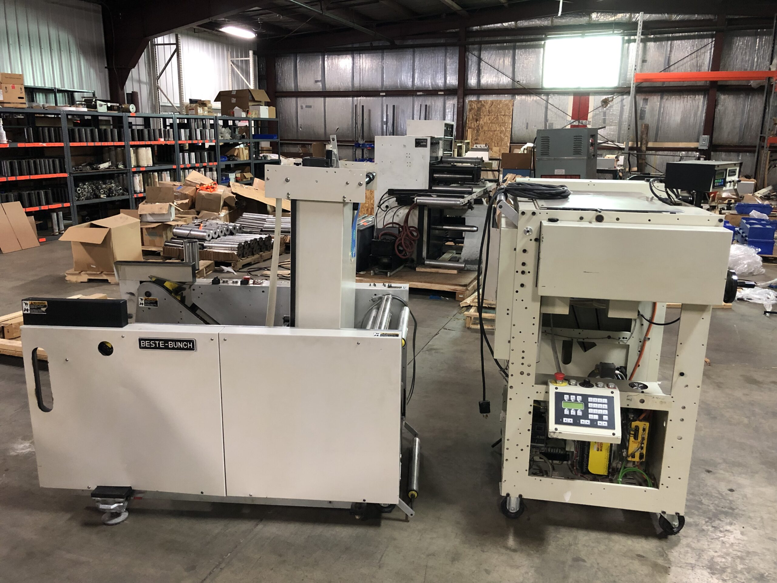 B Bunch Fan Folder - Used Flexo Printing Presses and Used Flexographic Equipment-3