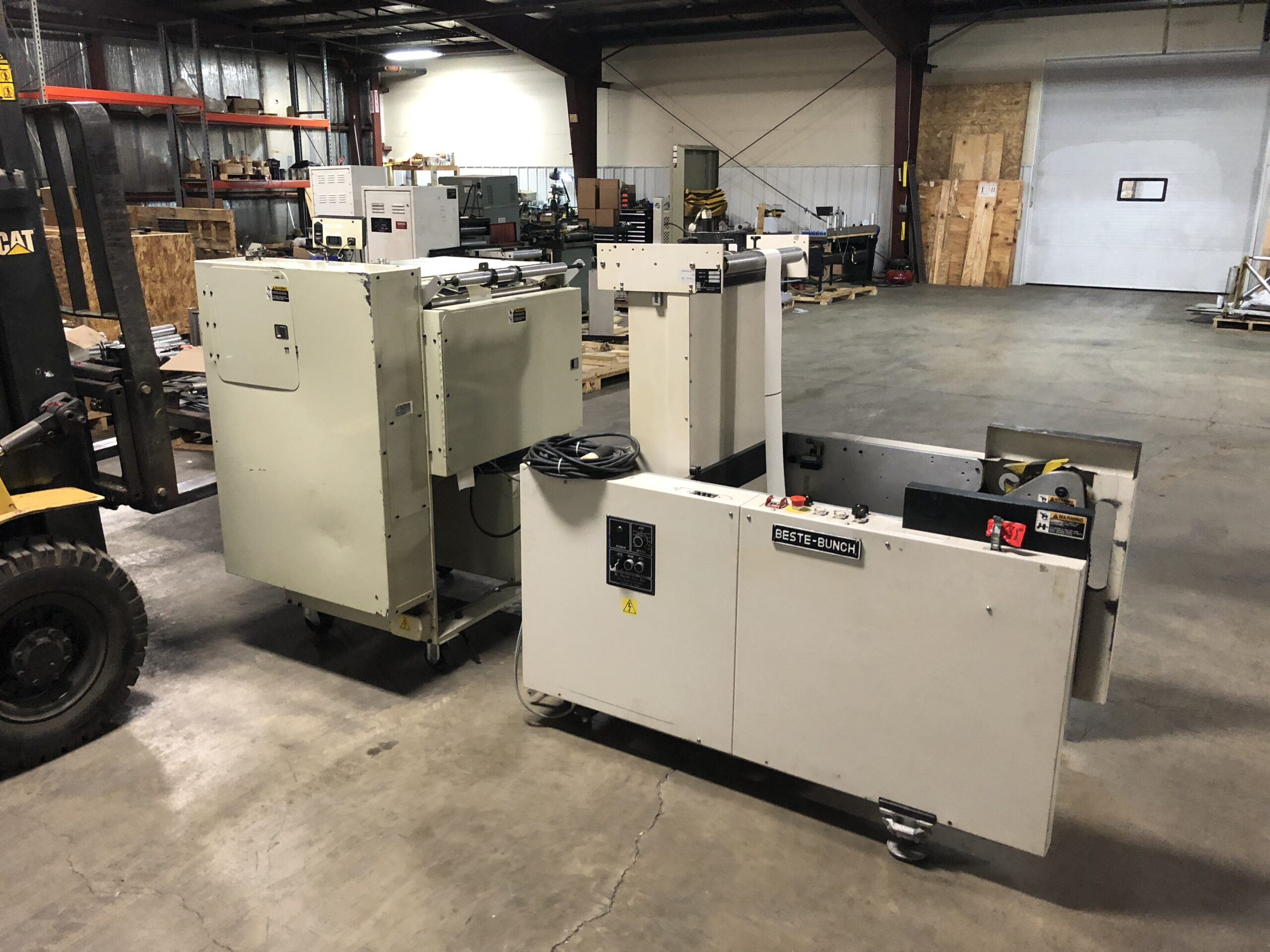 B Bunch Fan Folder - Used Flexo Printing Presses and Used Flexographic Equipment-4