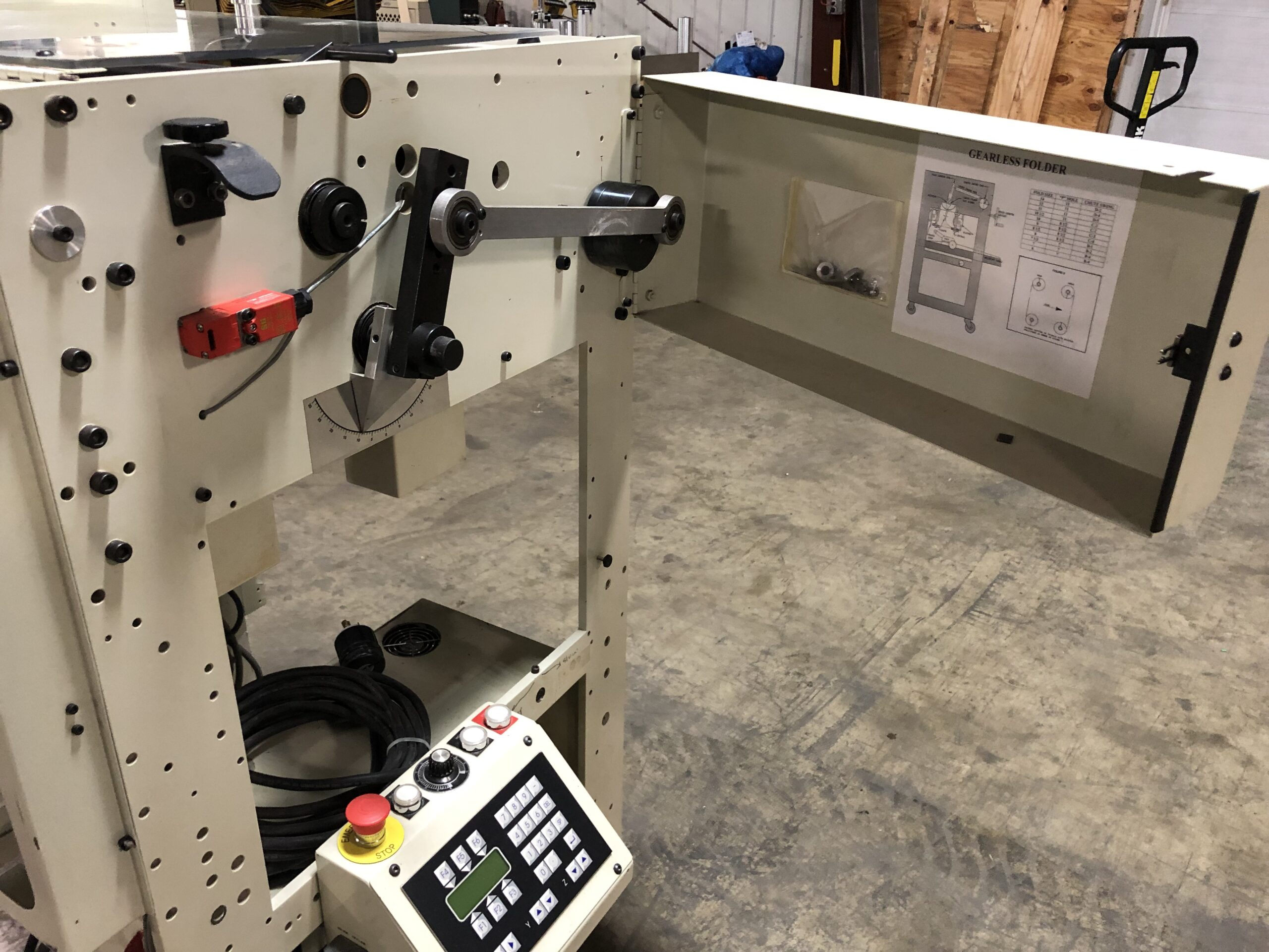 B Bunch Fan Folder - Used Flexo Printing Presses and Used Flexographic Equipment-5