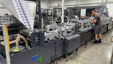 Karlville KS-DSUP-400 - Used Flexo Printing Presses and Used Flexographic Equipment