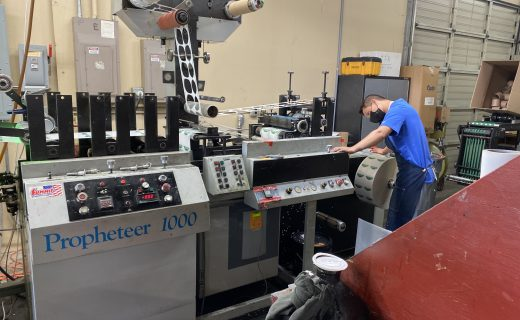 Propheteer 1000 - Used Flexo Printing Presses and Used Flexographic Equipment
