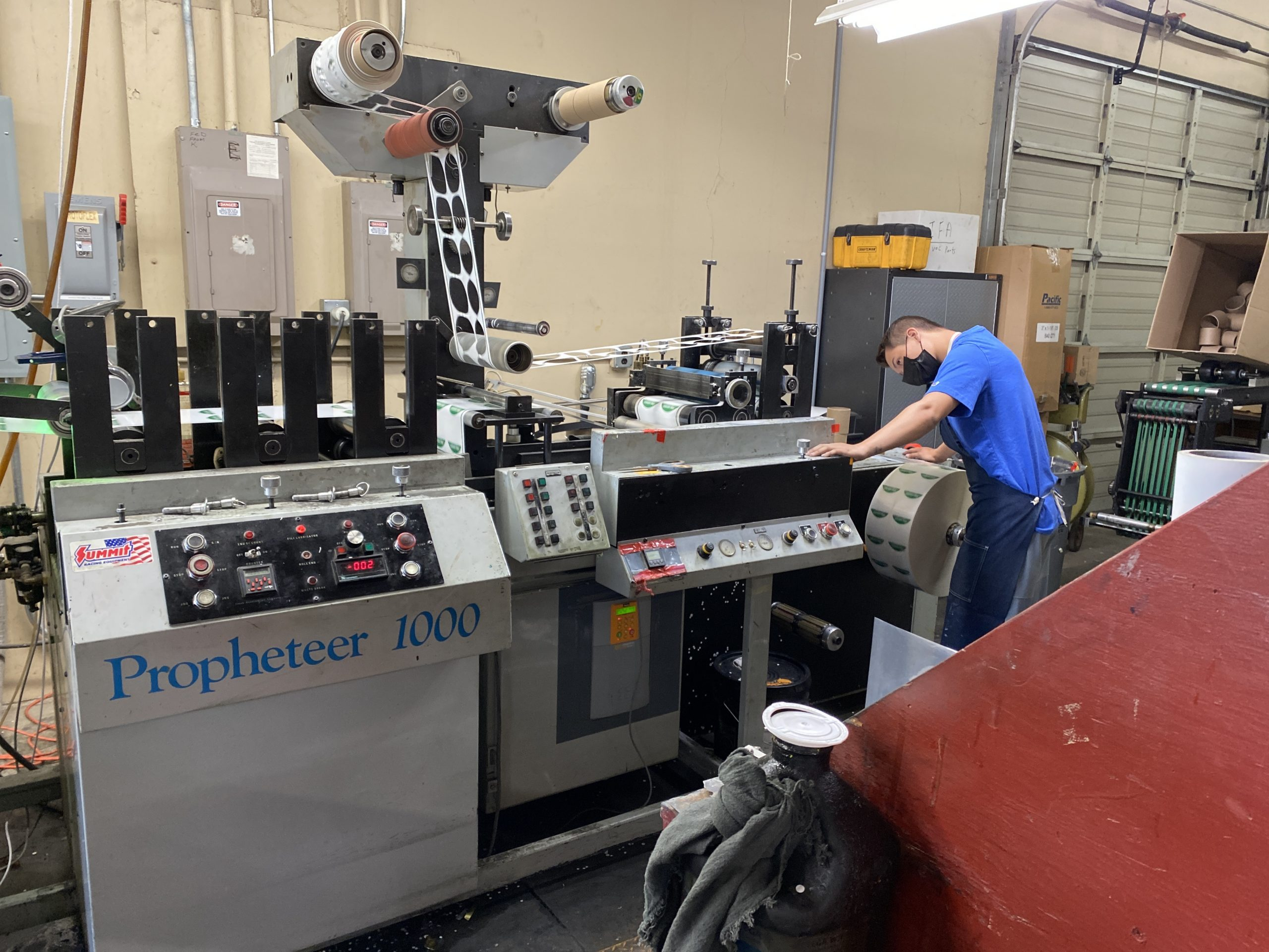 Propheteer 1000 - Used Flexo Printing Presses and Used Flexographic Equipment-0