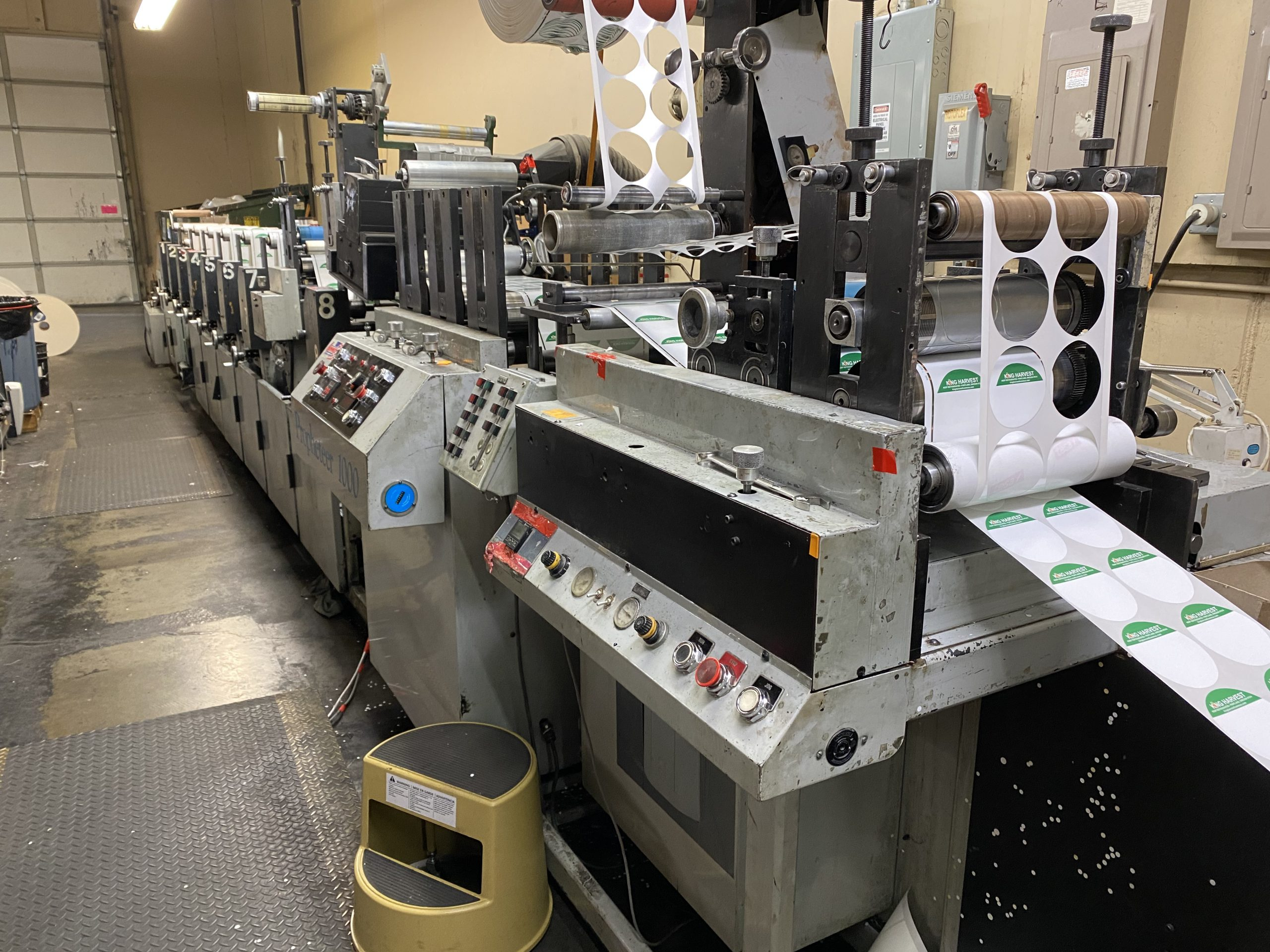 Propheteer 1000 - Used Flexo Printing Presses and Used Flexographic Equipment-2