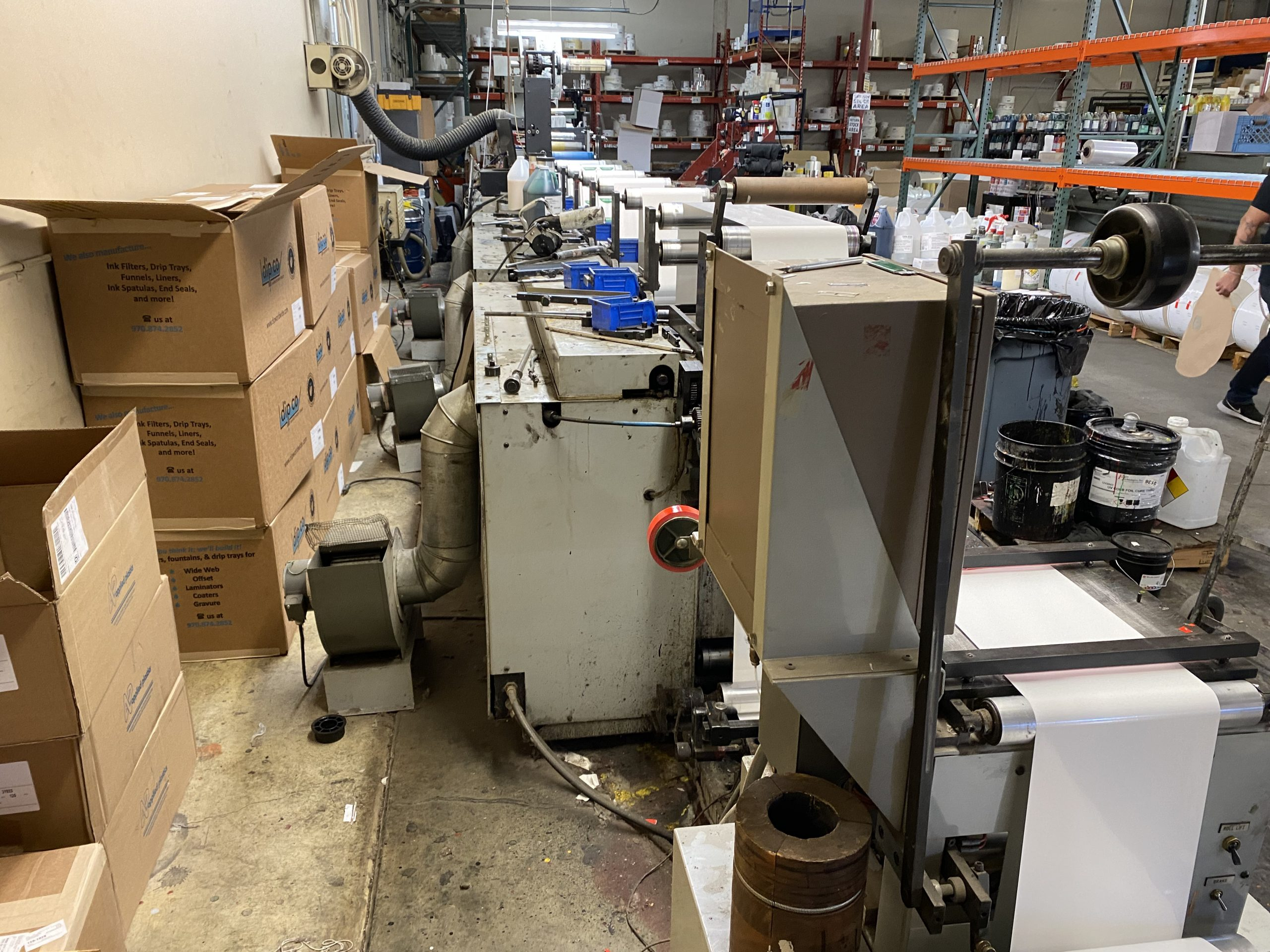 Propheteer 1000 - Used Flexo Printing Presses and Used Flexographic Equipment-5