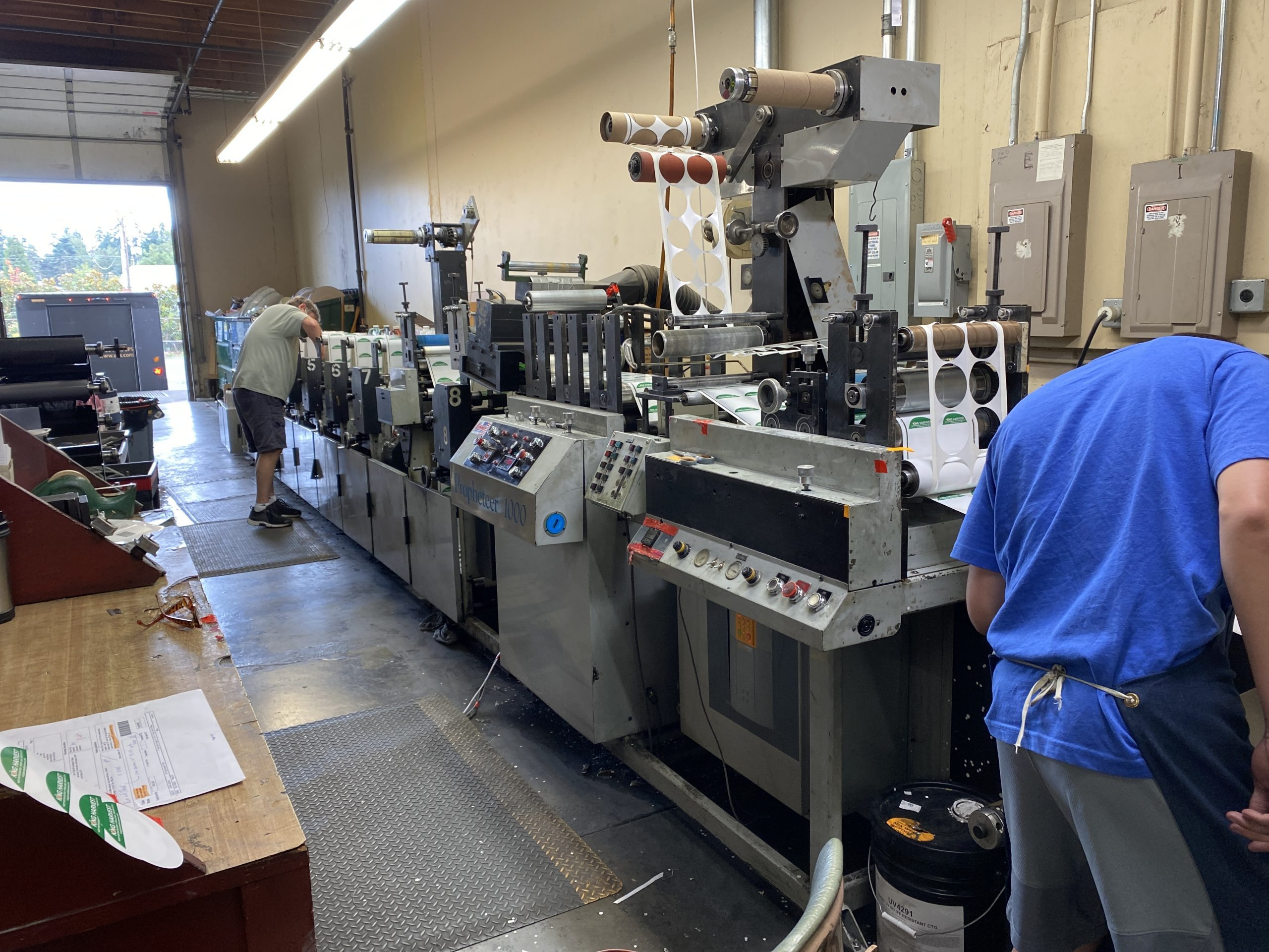 Propheteer 1000 - Used Flexo Printing Presses and Used Flexographic Equipment-7