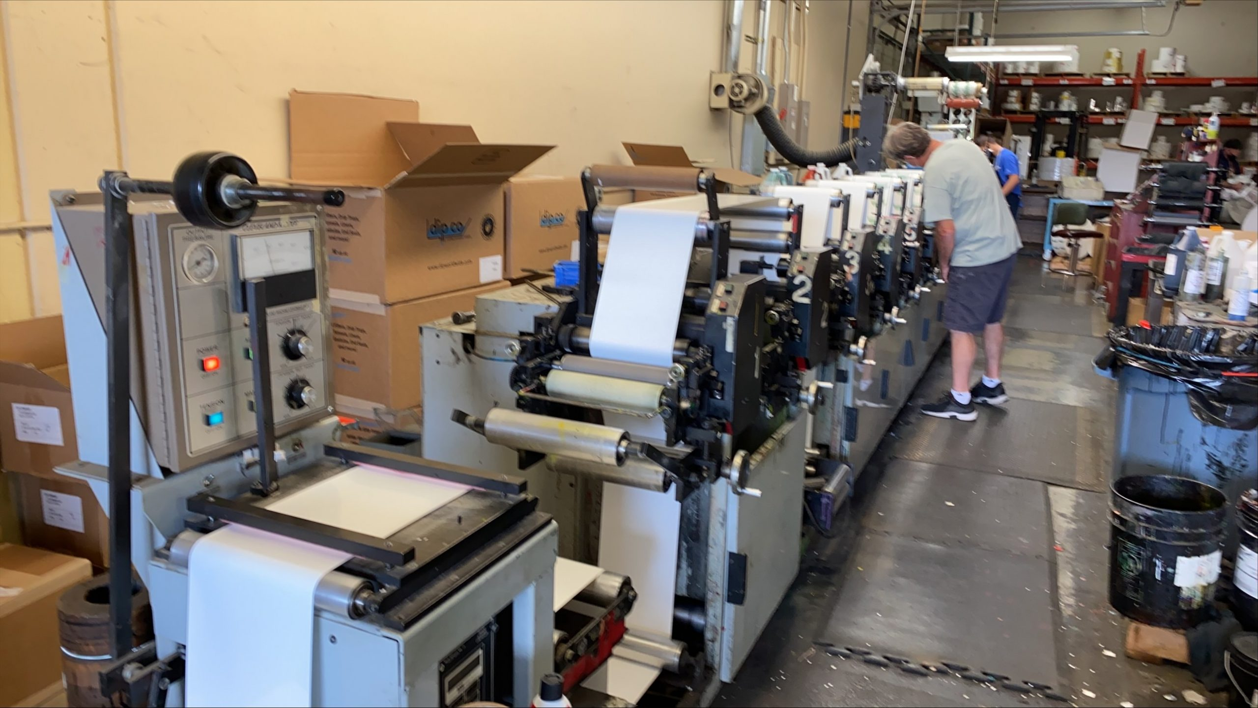 Propheteer 1000 - Used Flexo Printing Presses and Used Flexographic Equipment-8
