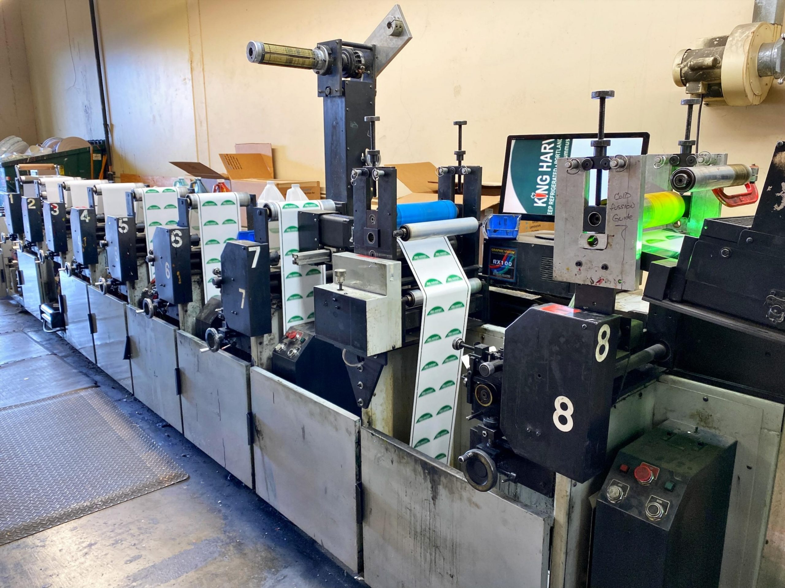 Propheteer 1000 - Used Flexo Printing Presses and Used Flexographic Equipment-10