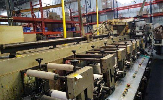 Aquaflex LC - Used Flexo Printing Presses and Used Flexographic Equipment