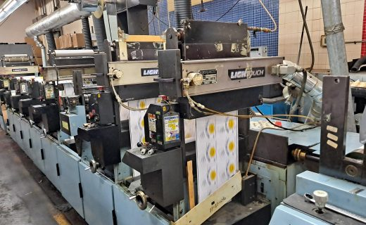 Propheteer 1300L - Used Flexo Printing Presses and Used Flexographic Equipment