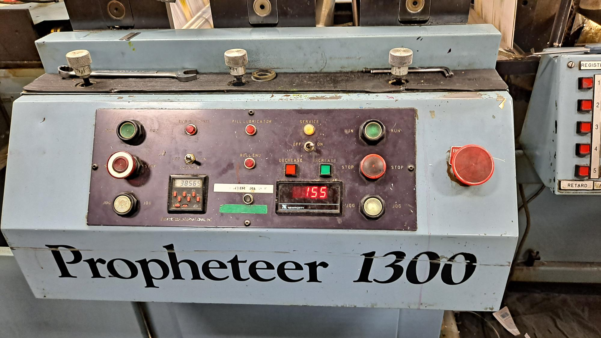 Propheteer 1300L - Used Flexo Printing Presses and Used Flexographic Equipment-2