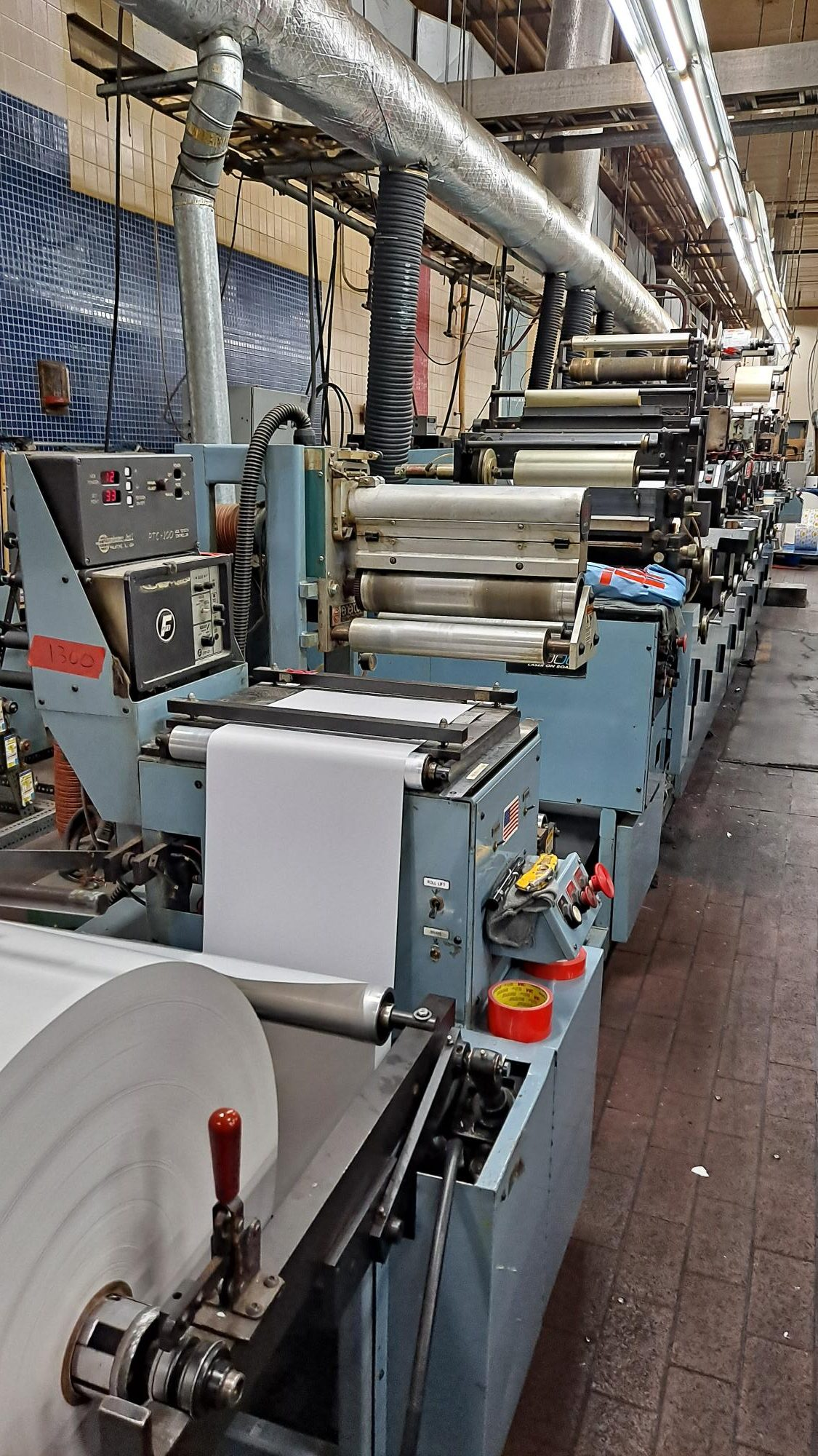 Propheteer 1300L - Used Flexo Printing Presses and Used Flexographic Equipment-4