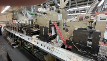 Aquaflex LC1006 - Used Flexo Printing Presses and Used Flexographic Equipment