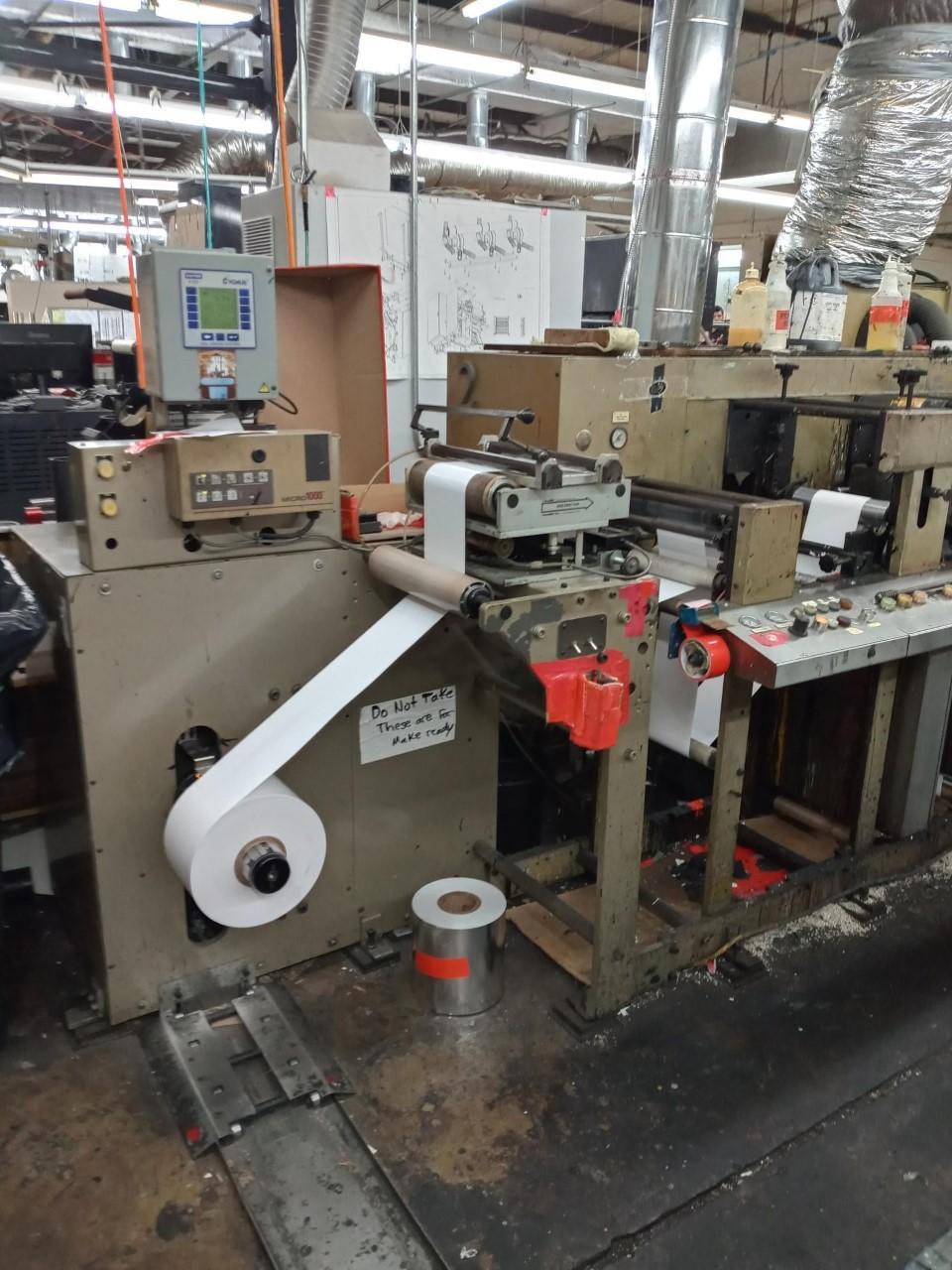 Aquaflex LC1006 - Used Flexo Printing Presses and Used Flexographic Equipment-3